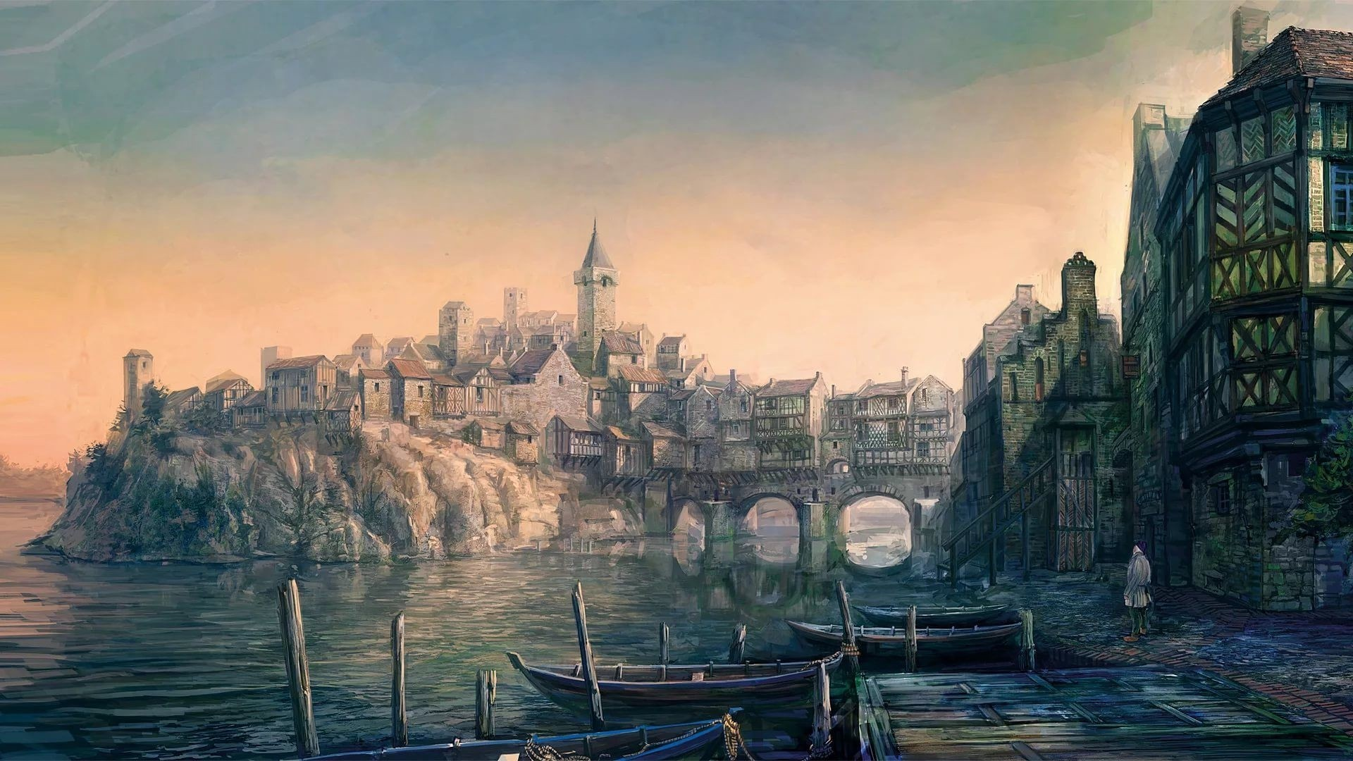Medieval Full HD Wallpaper