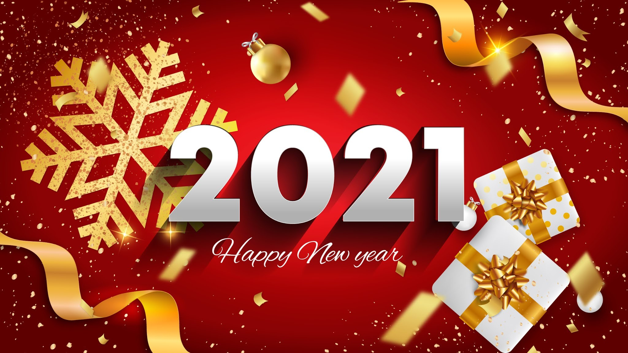 New Year 2021 Free Wallpaper