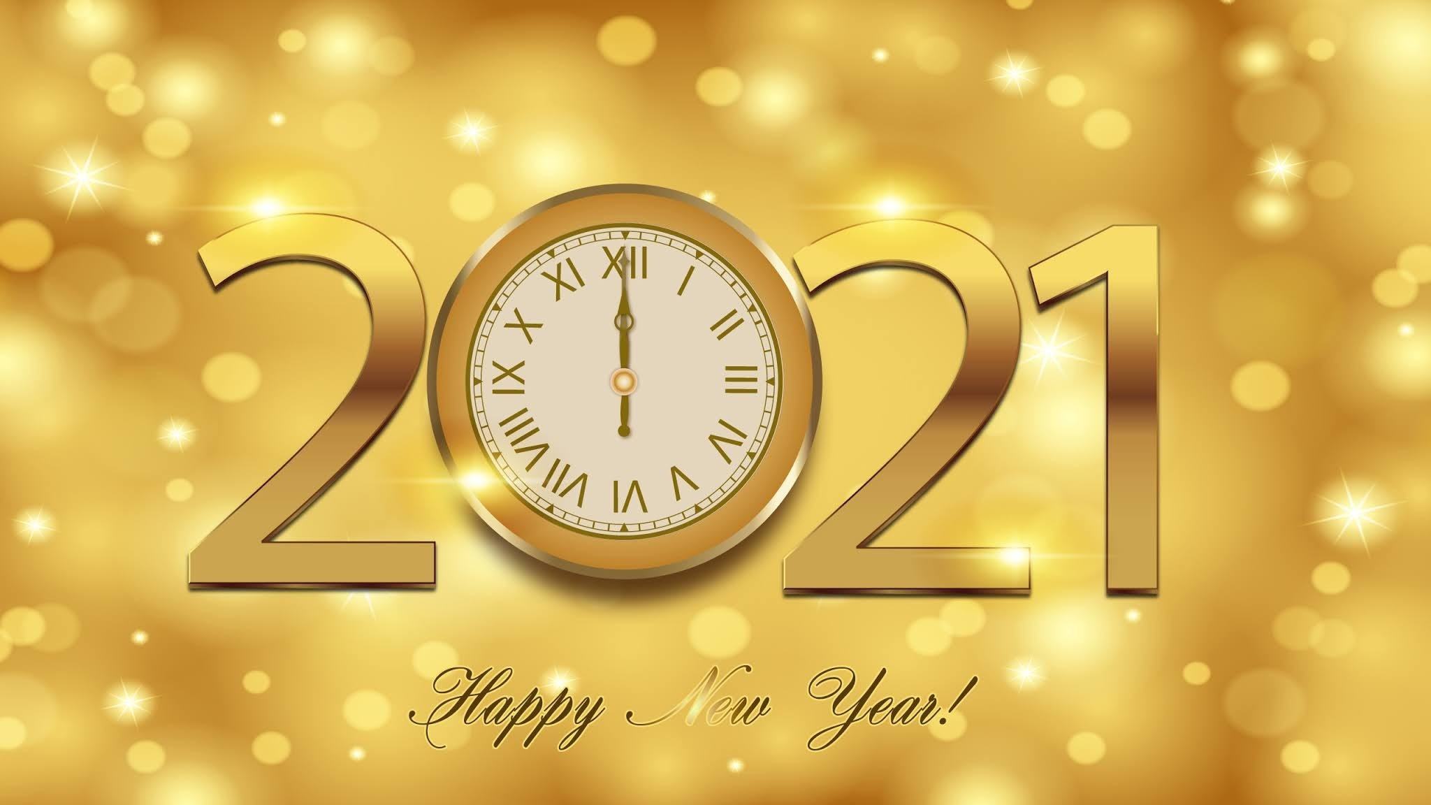 New Year 2021 PC Wallpaper