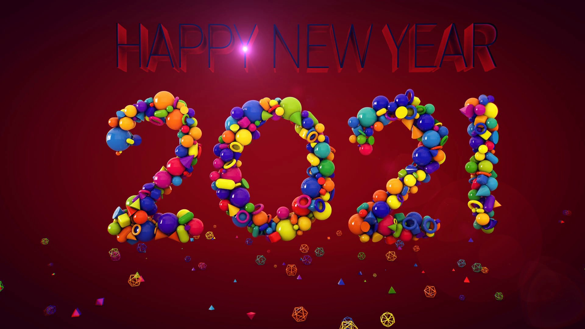 New Year 2021 Wallpaper for pc