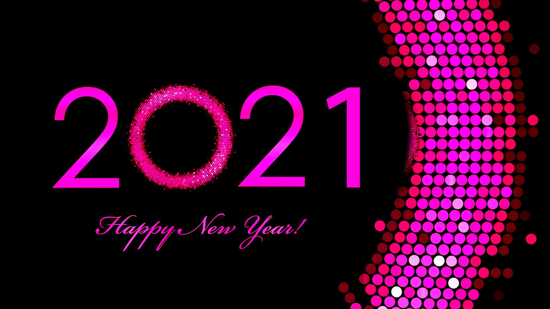 New Year 2021 Wallpaper theme