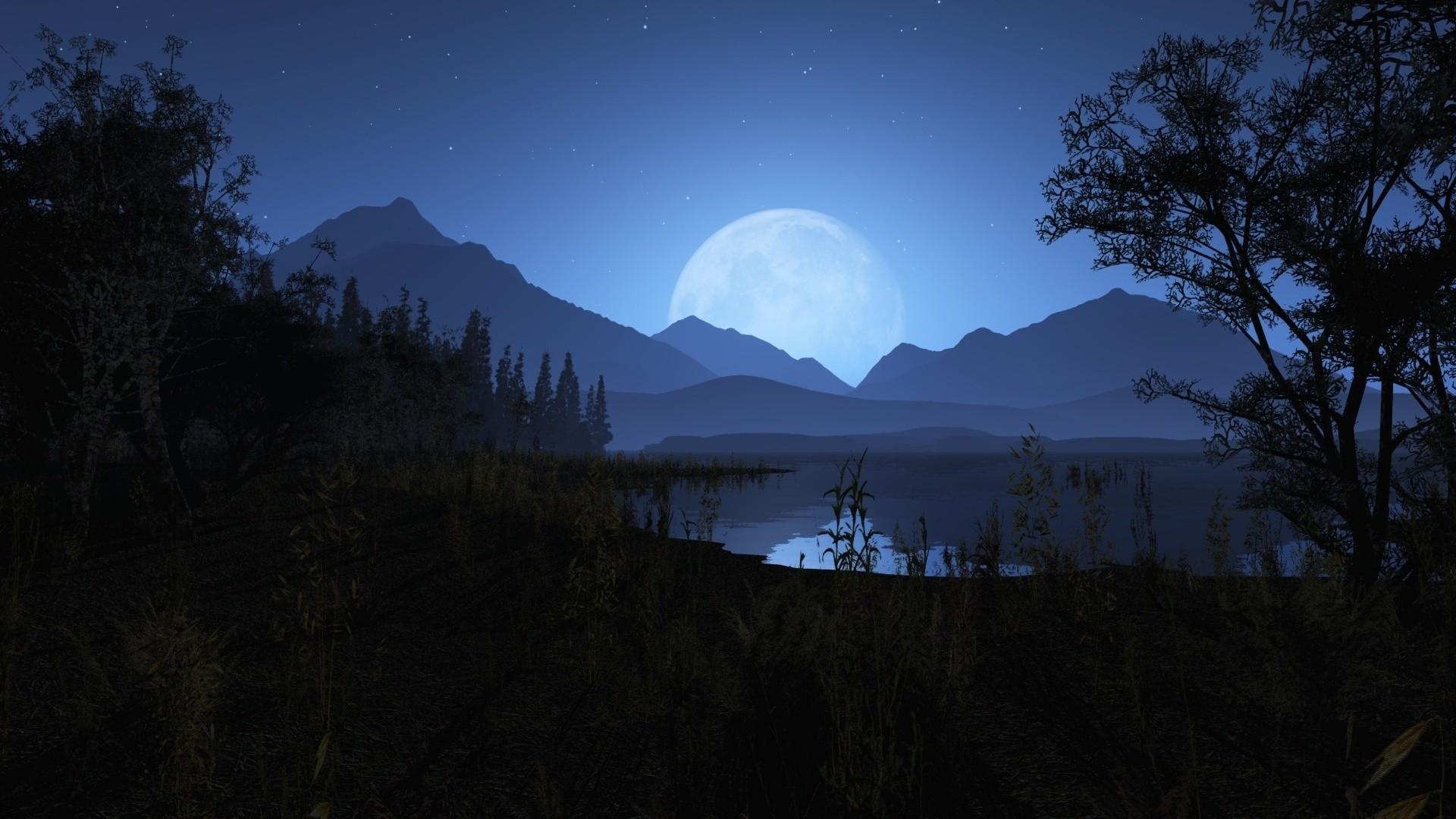 Night Time Wallpaper image hd