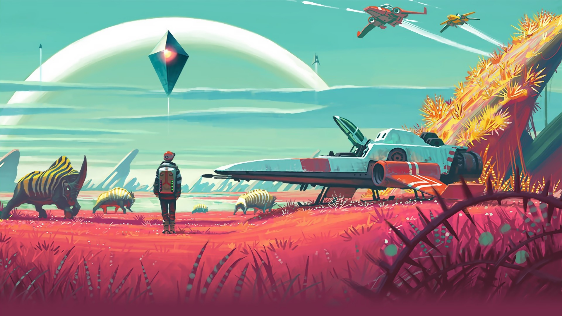 No Man's Sky Download Wallpaper