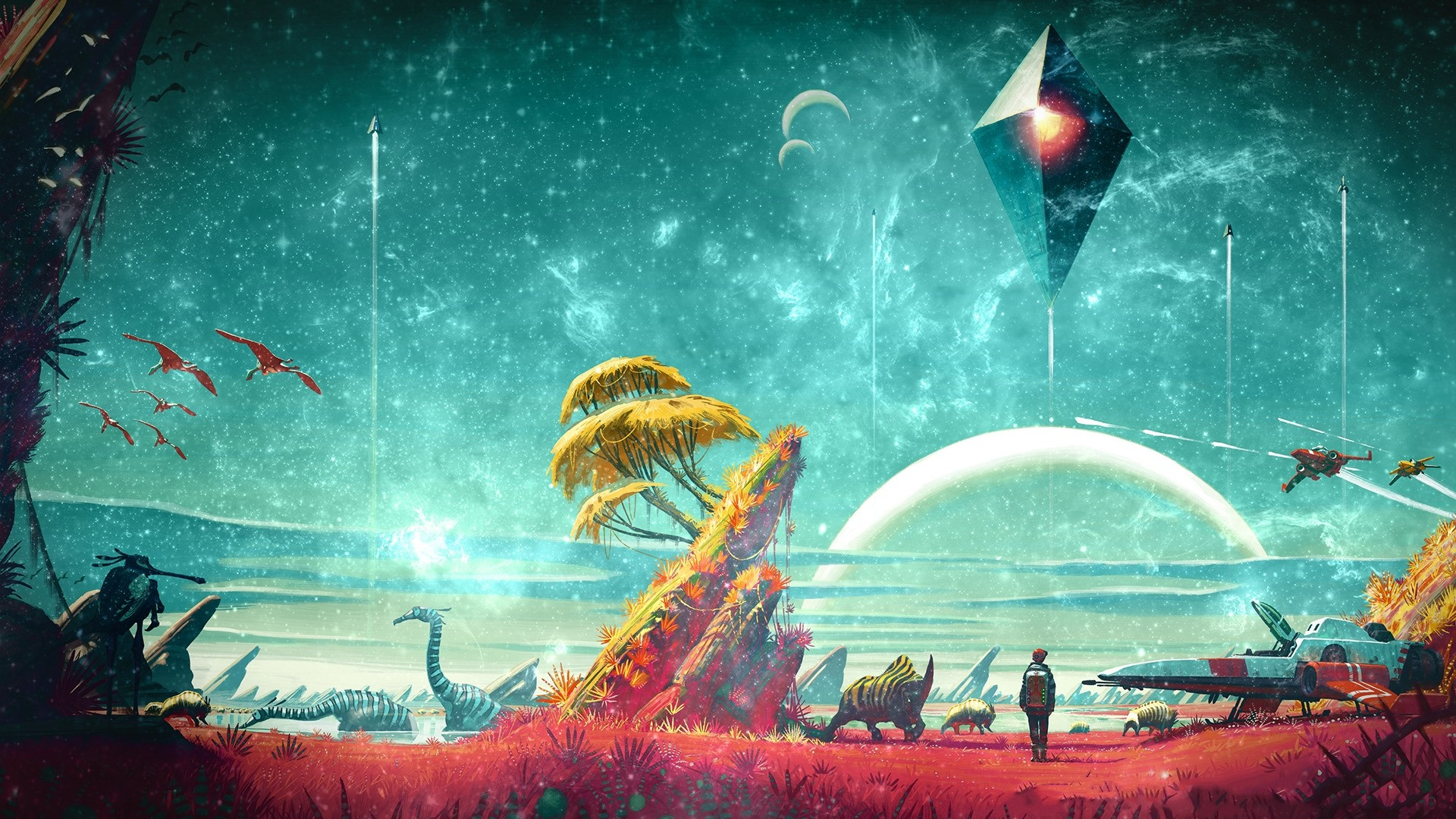 No Man's Sky HD Wallpaper