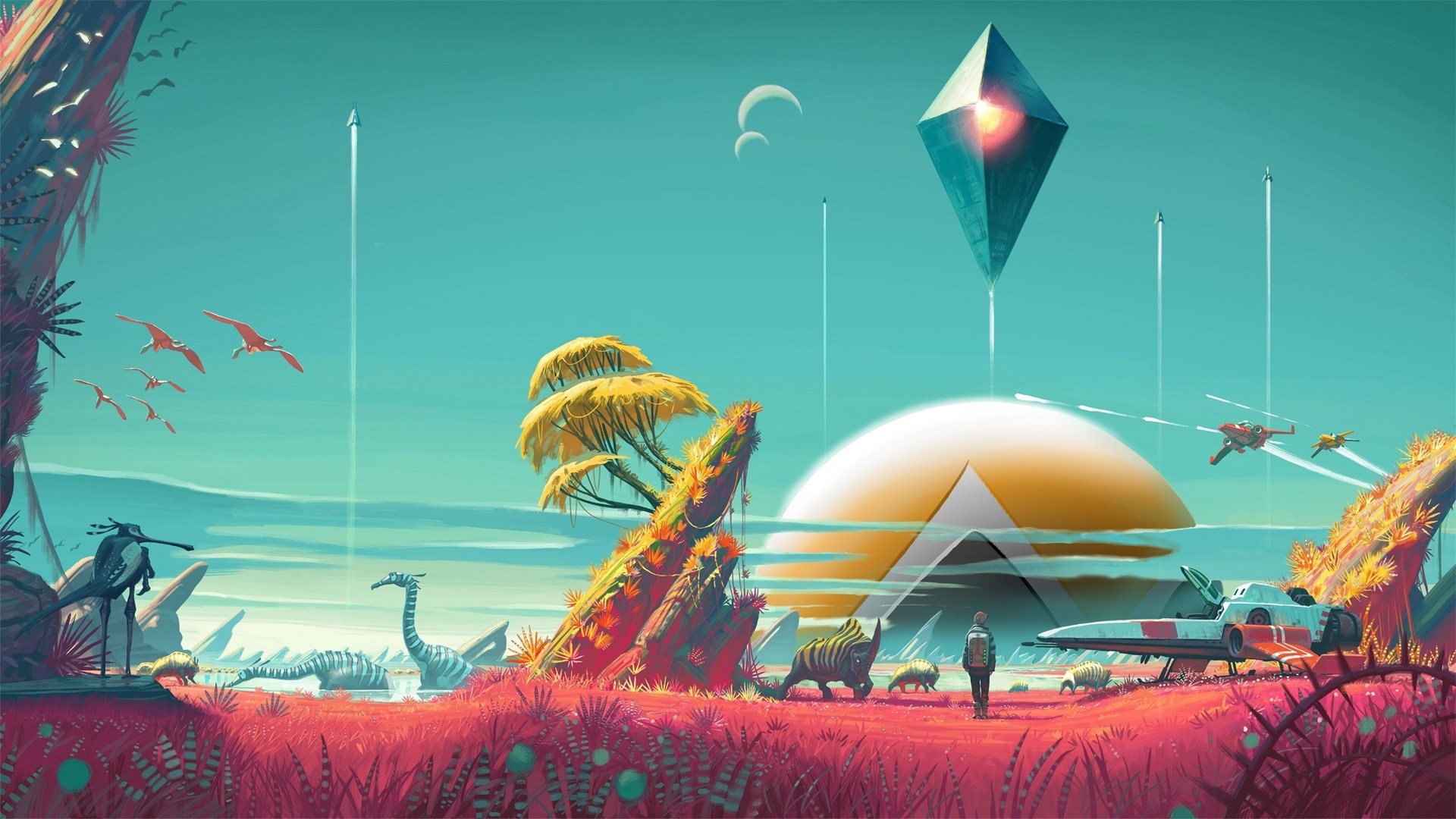 No Man's Sky Free Wallpaper and Background