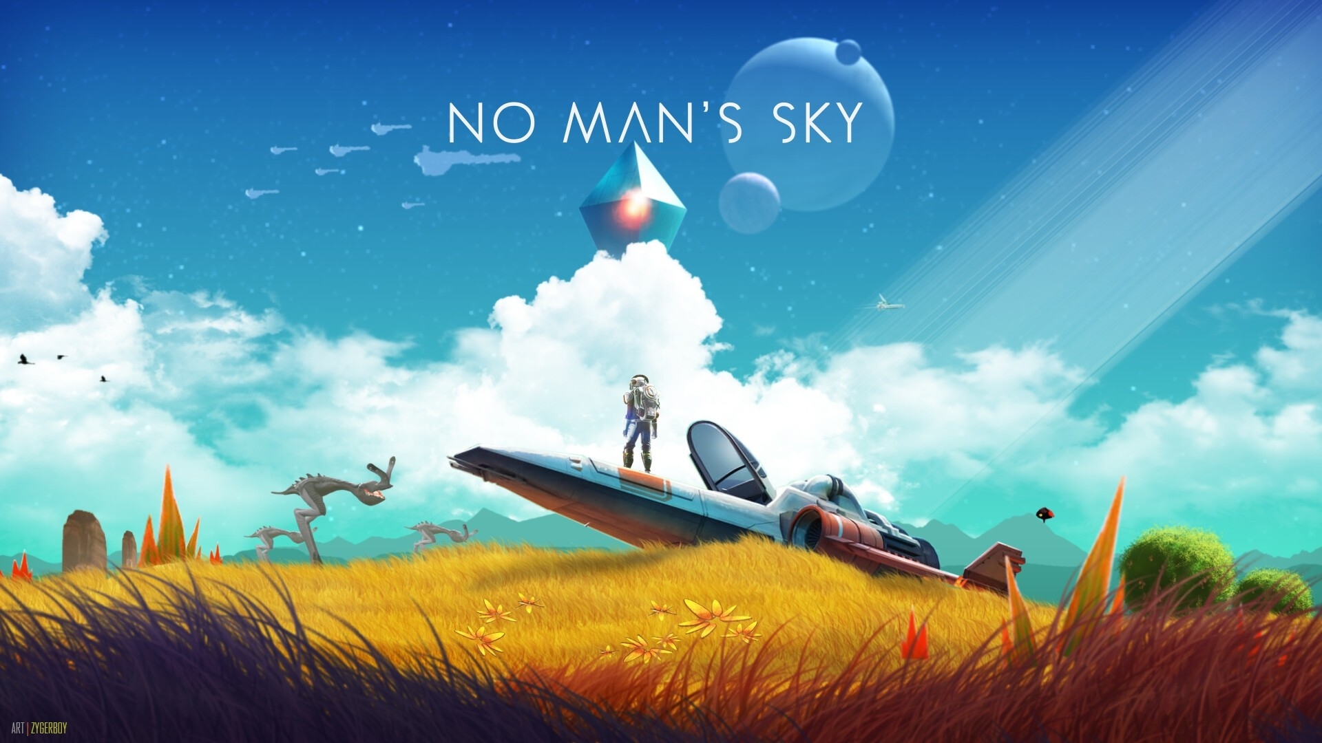 No Man's Sky wallpaper photo hd