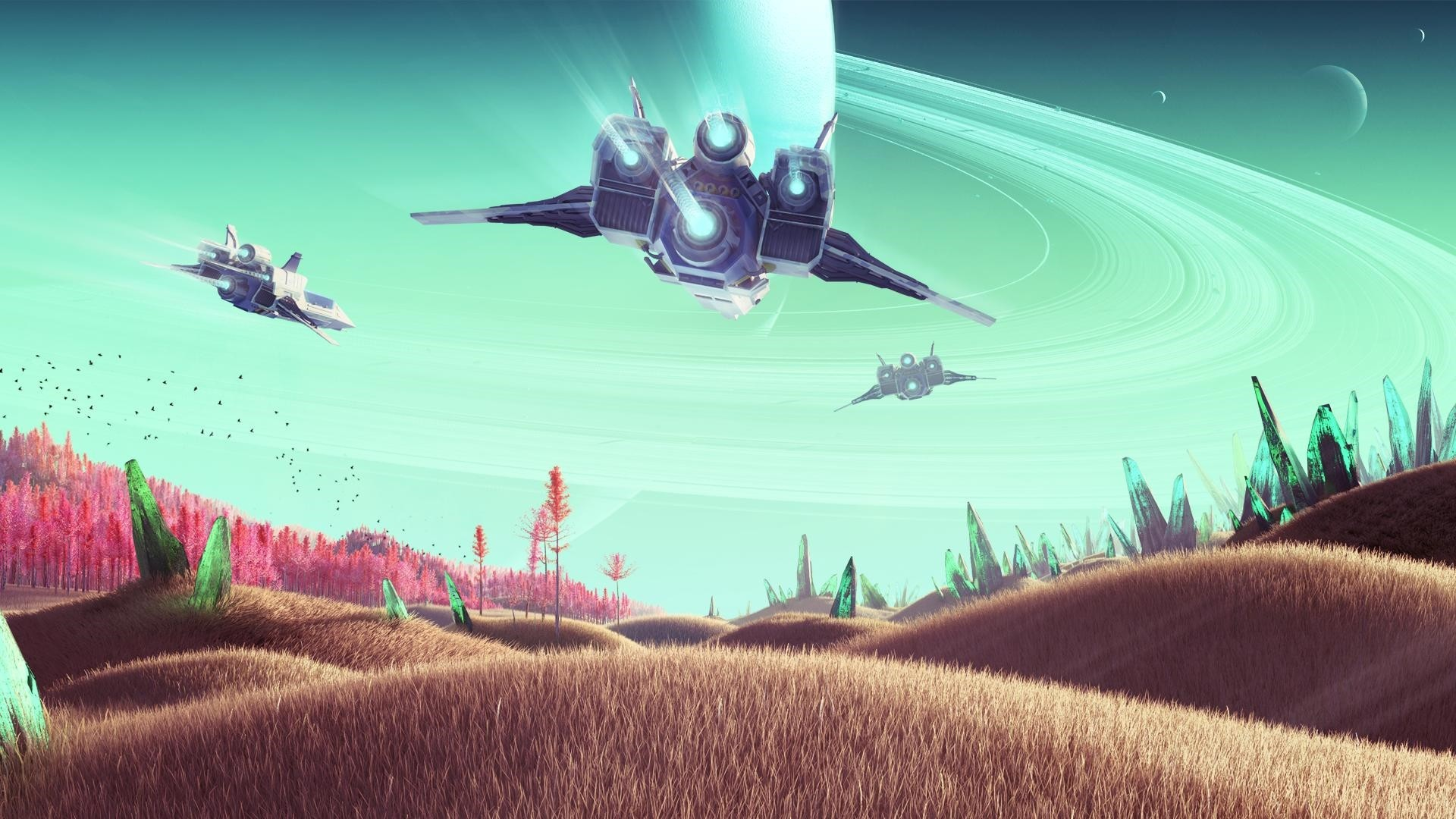 No Man's Sky Desktop Wallpaper