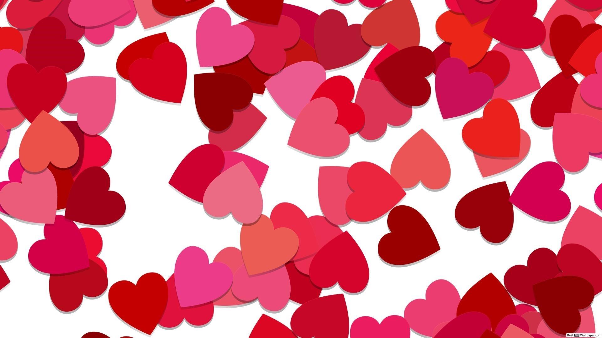Pink Heart Free Wallpaper