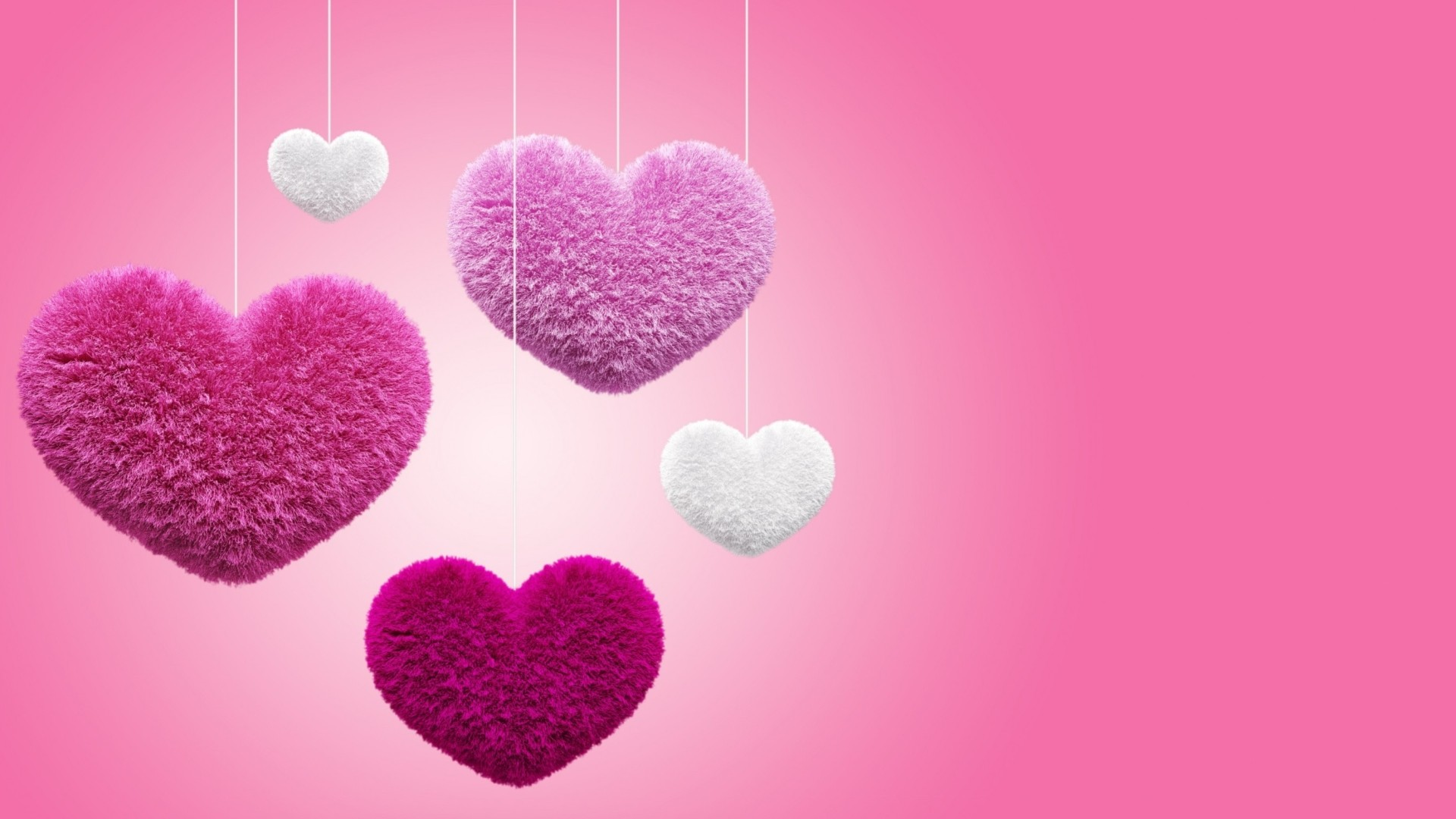 Pink Heart hd wallpaper download
