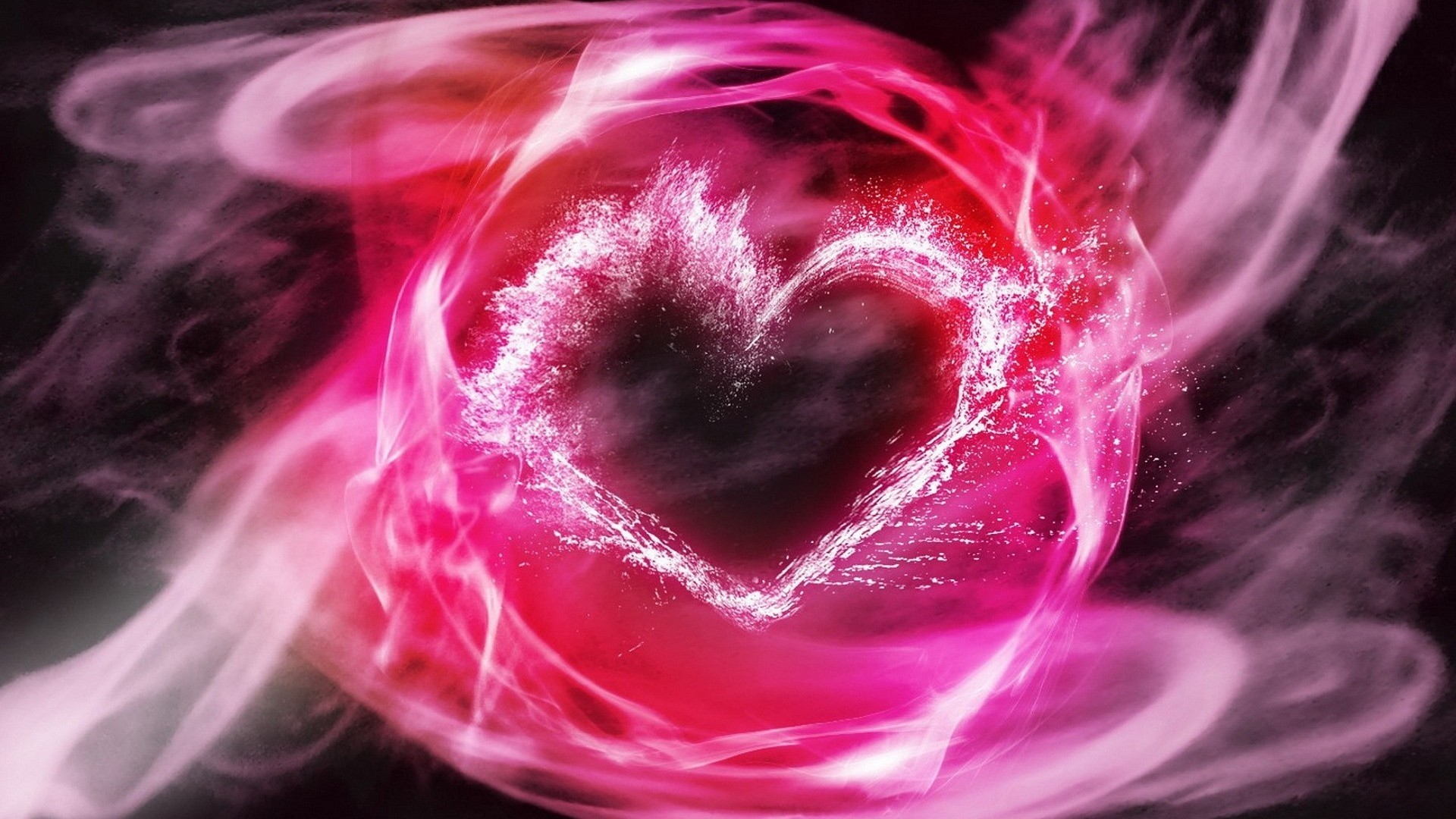 Pink Heart Wallpaper Picture hd