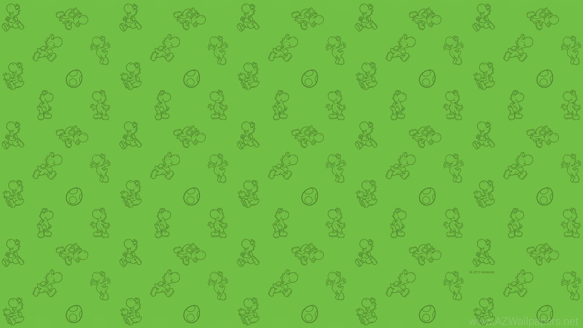 Yoshi Background Wallpaper