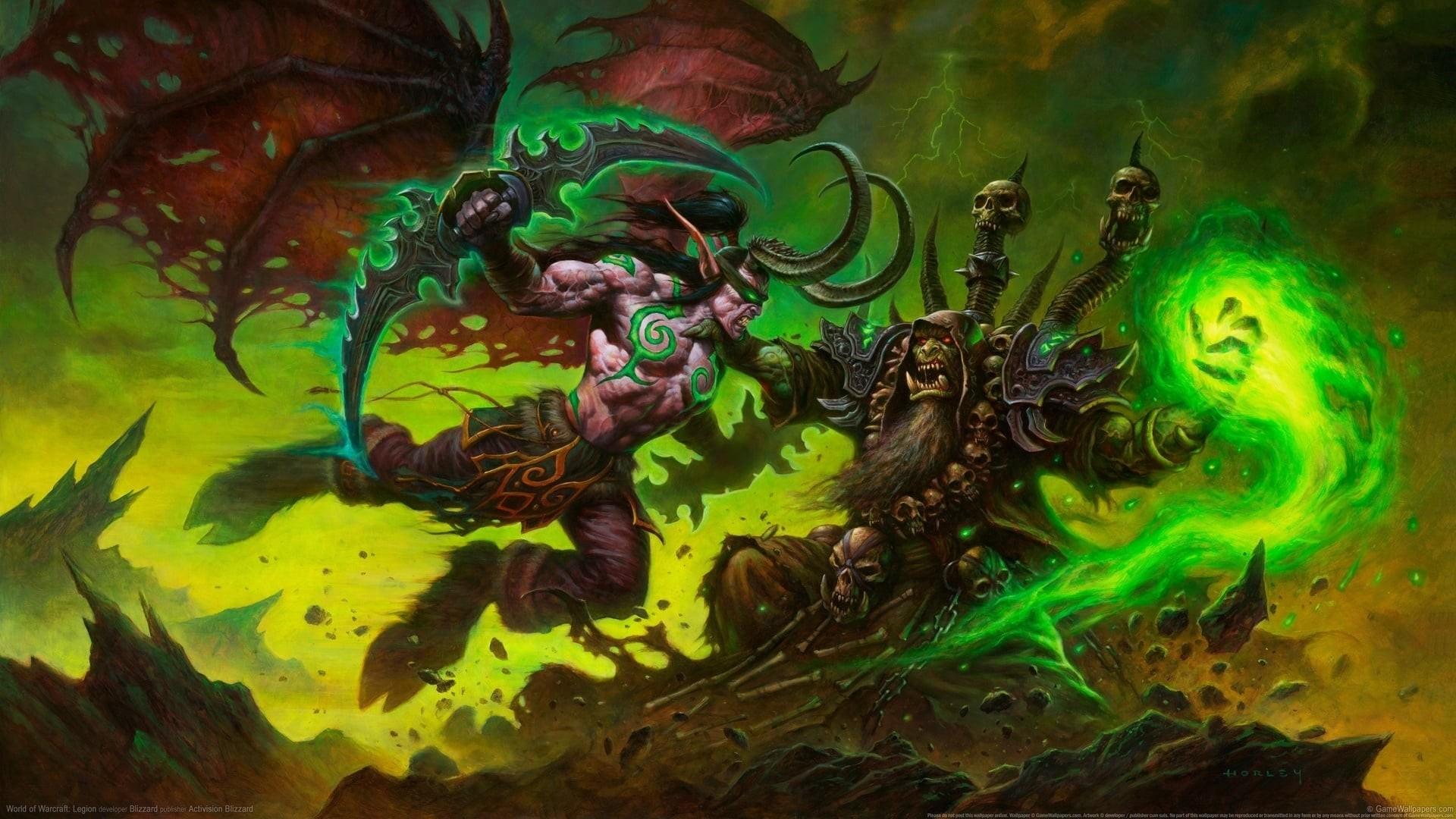 World Of Warcraft PC Wallpaper HD