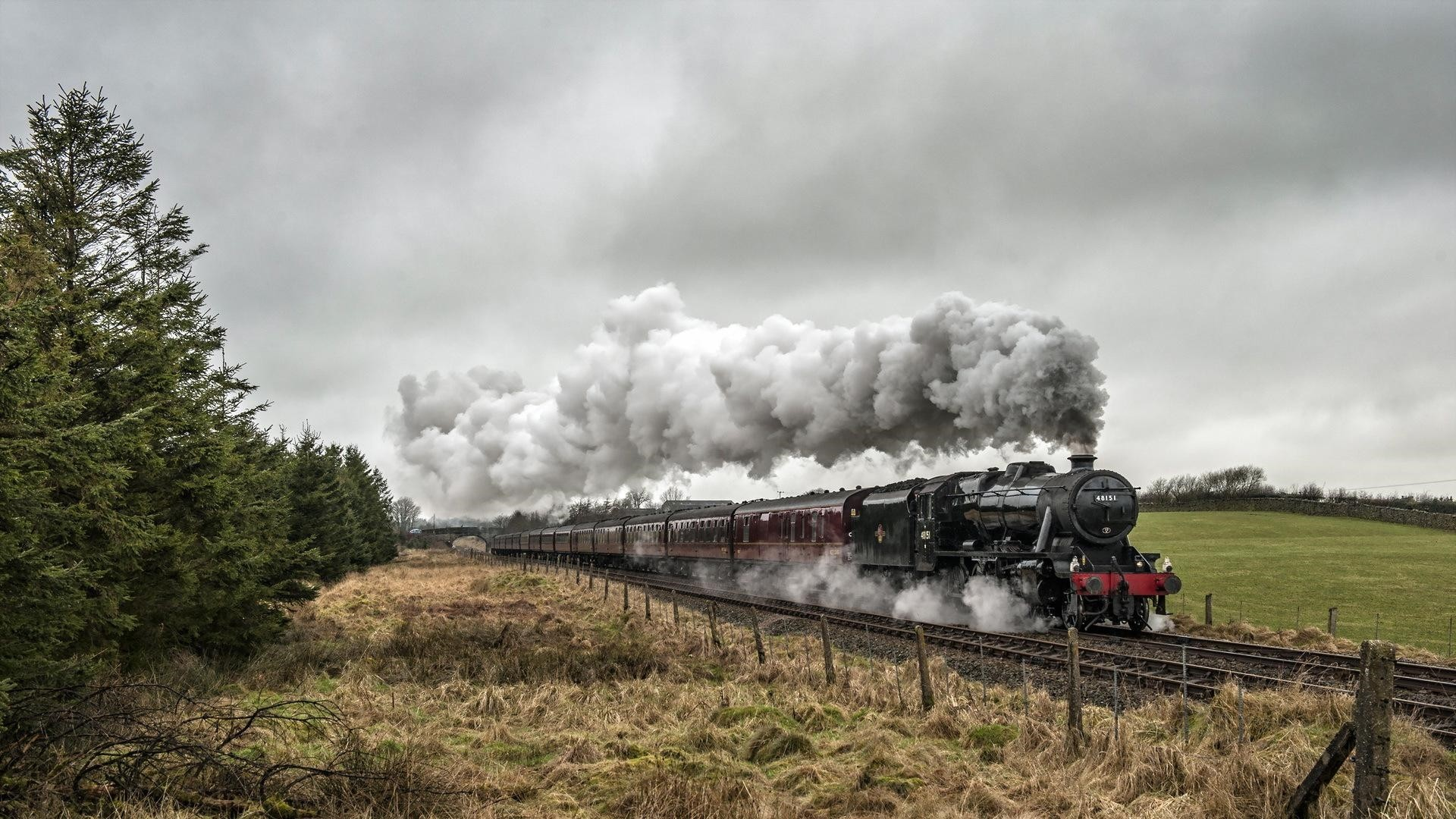 Steam Train Wallpaper image hd