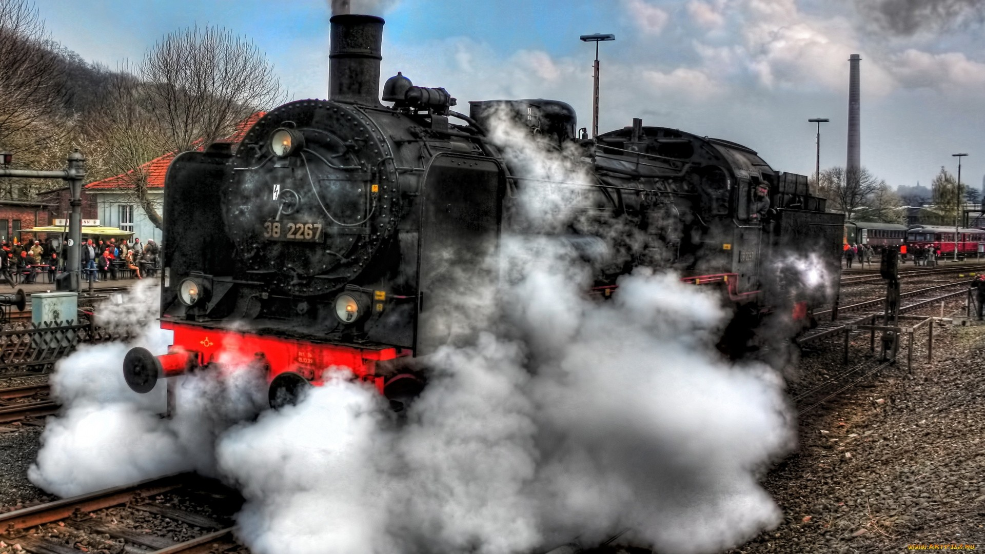 Steam Train Download Wallpaper