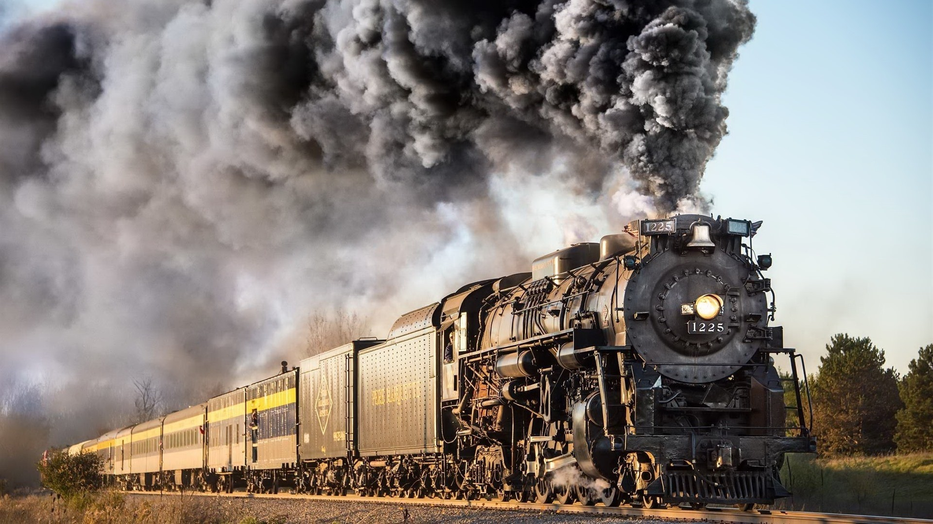 Steam Train PC Wallpaper