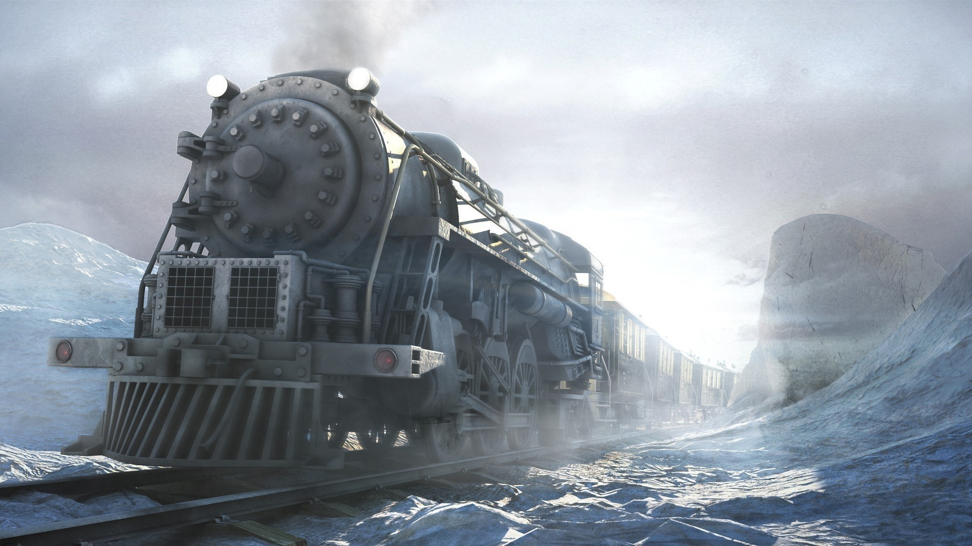 Steam Train Free Wallpaper