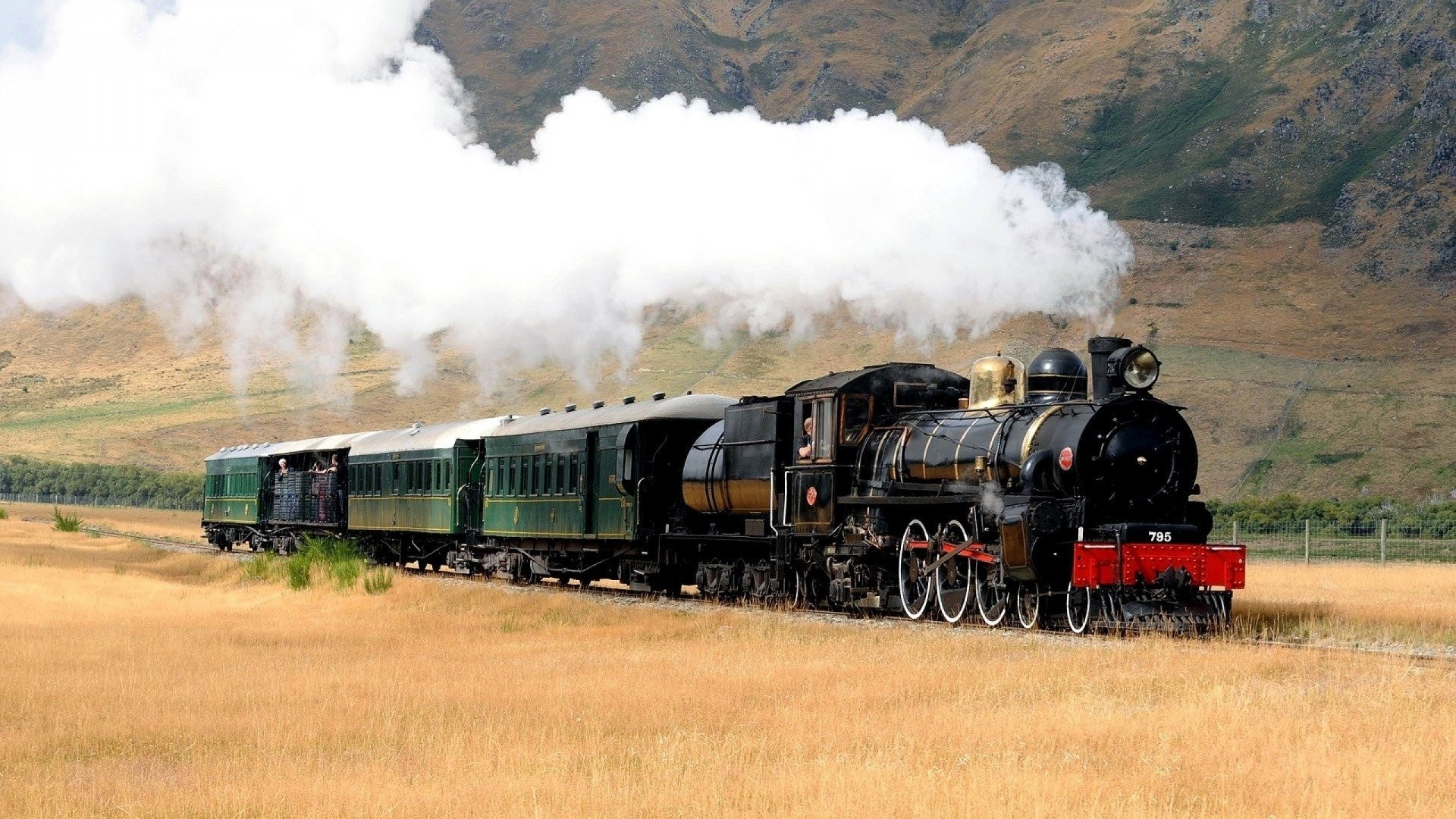 Steam Train Full HD Wallpaper