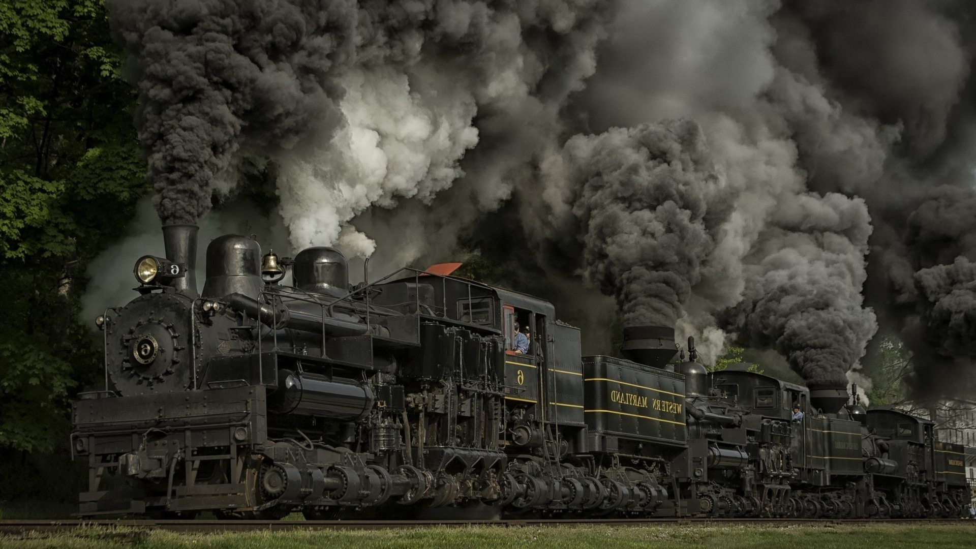 Steam Train Wallpaper and Background
