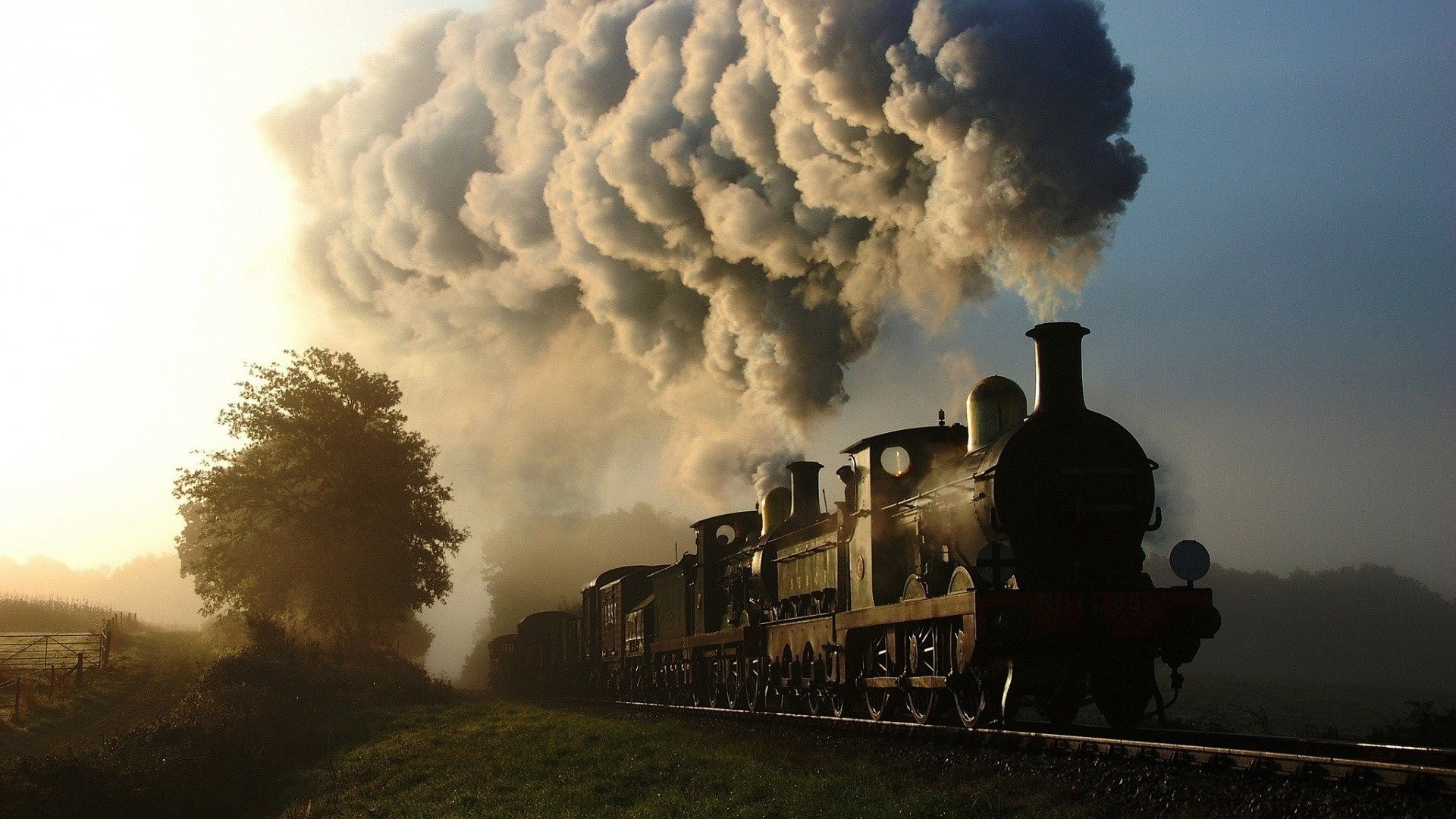 Steam Train Background Wallpaper