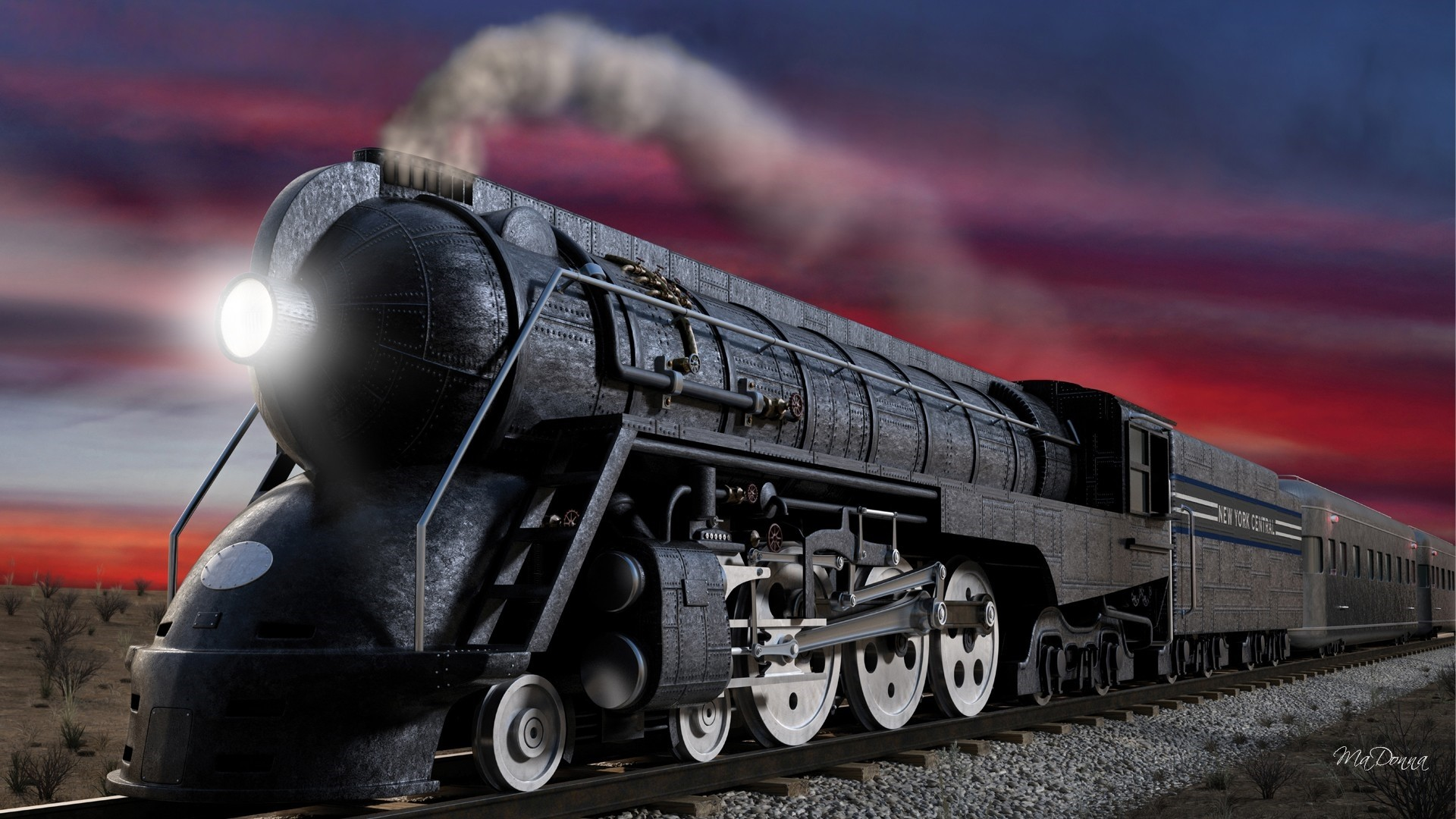 Steam Train HD Wallpaper