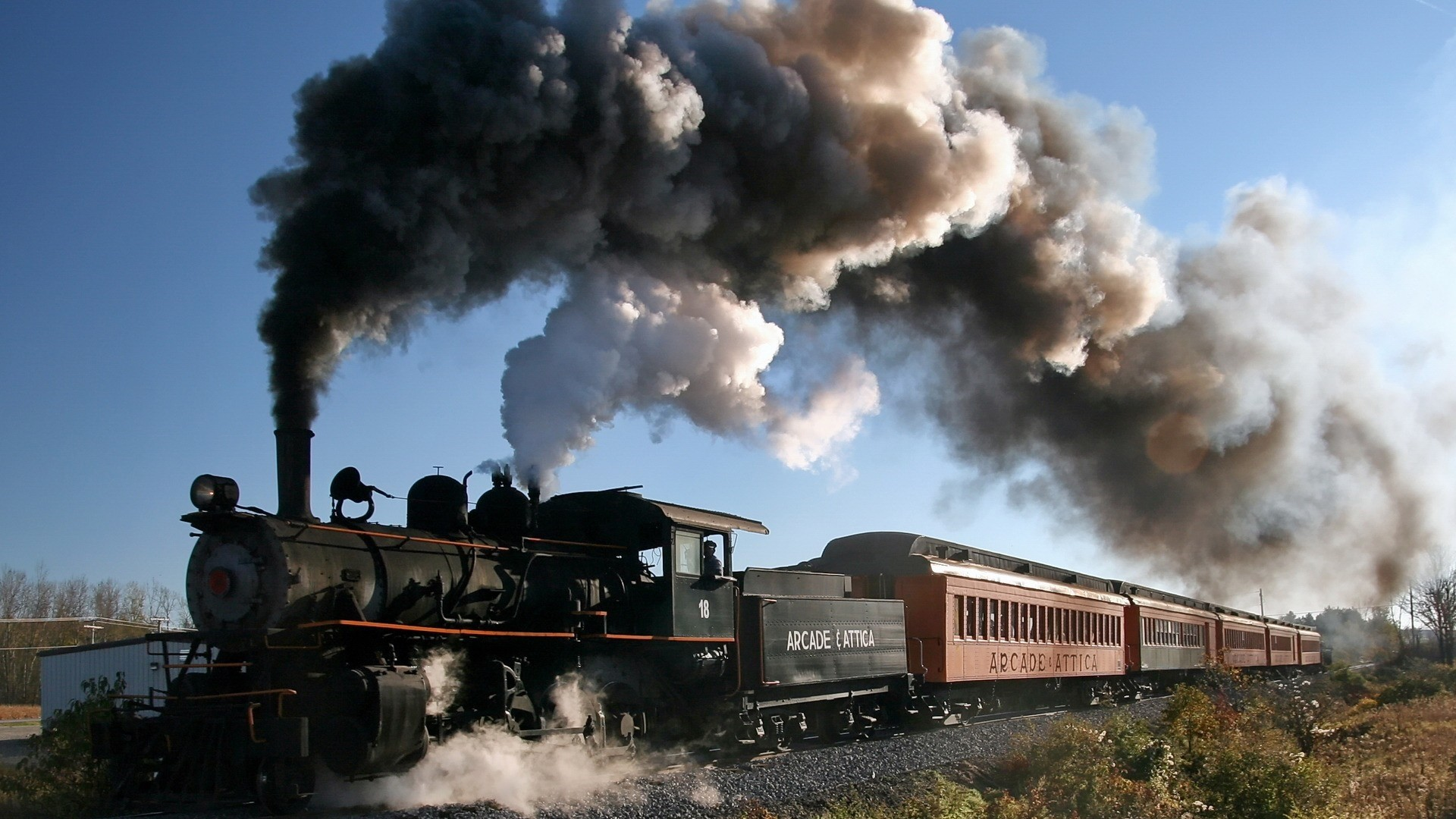 Steam Train Image