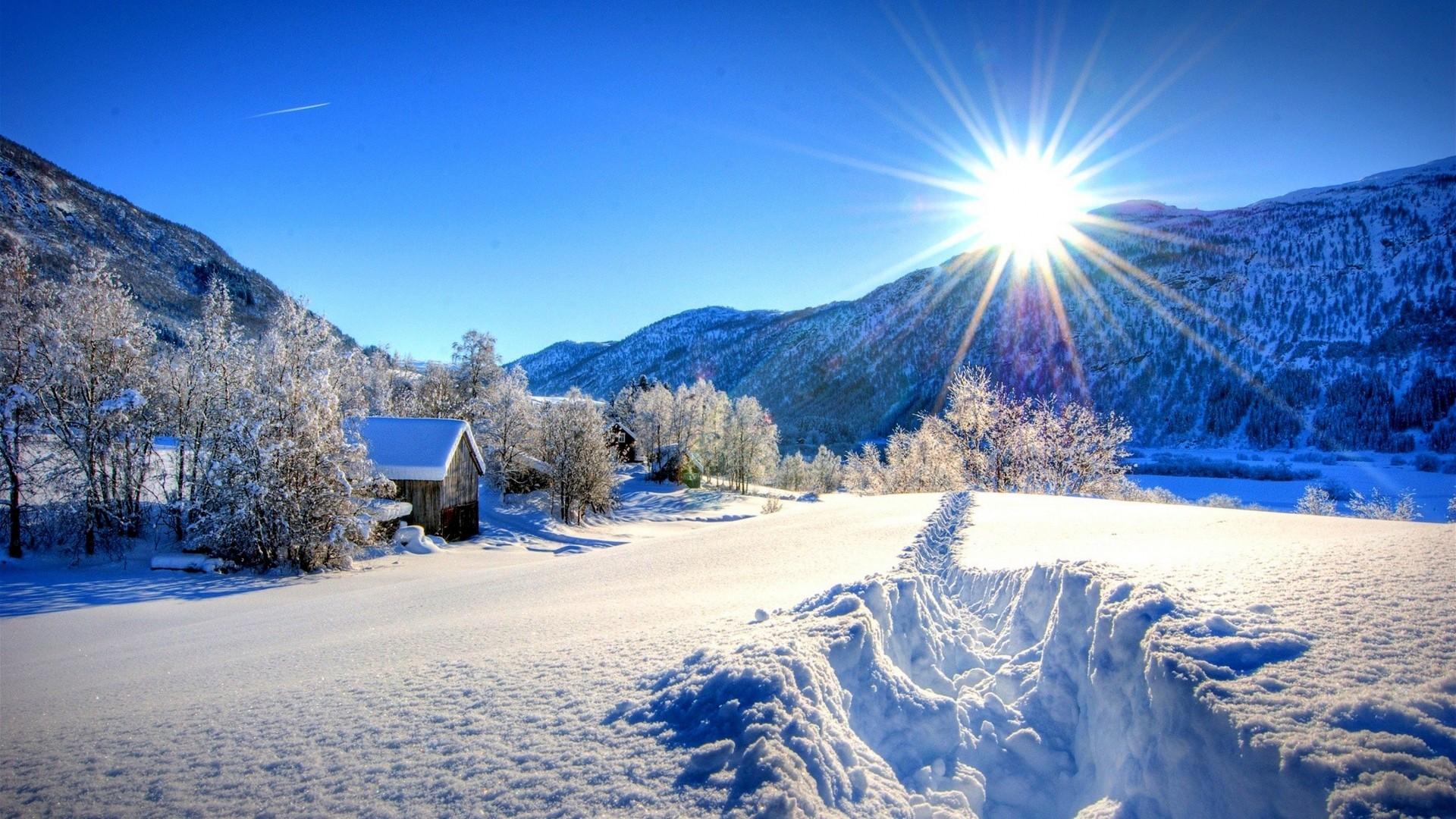 Snowy Wallpaper theme