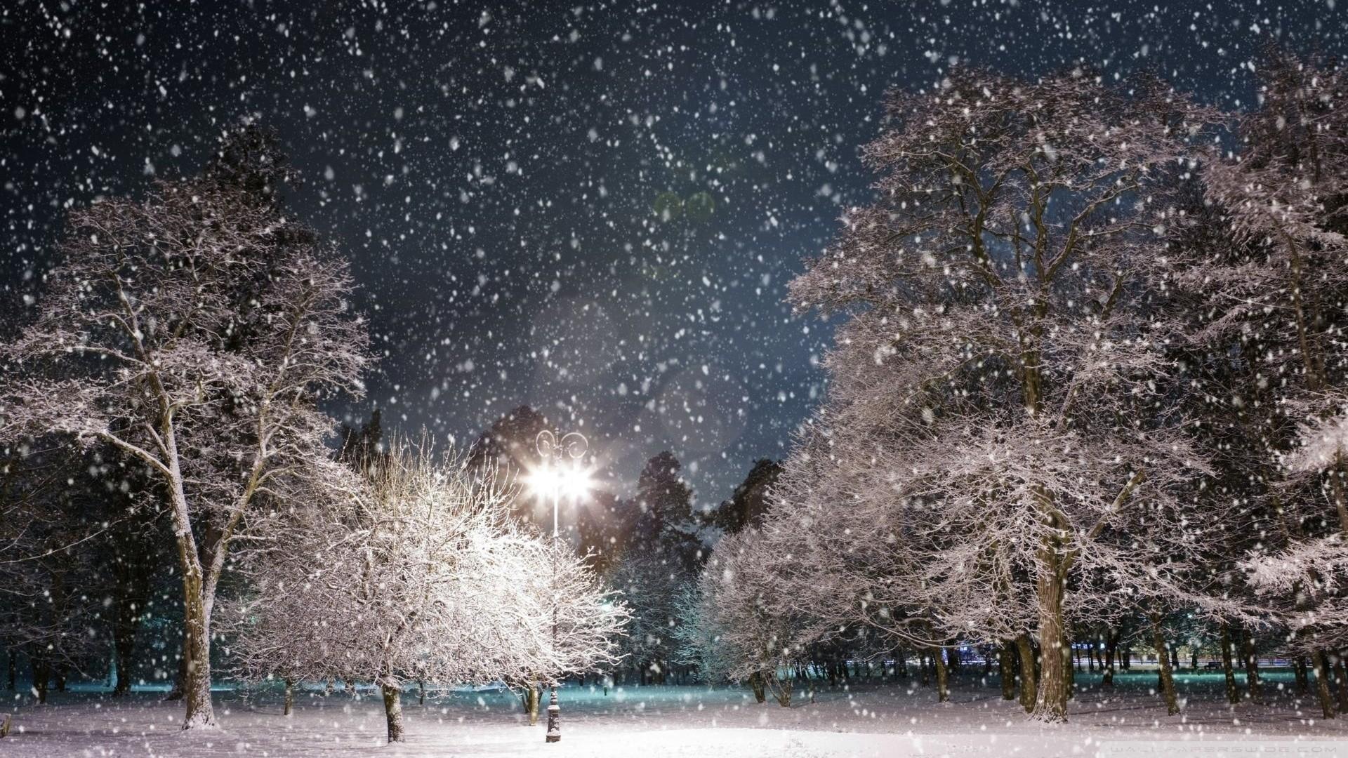 Snowy hd desktop wallpaper