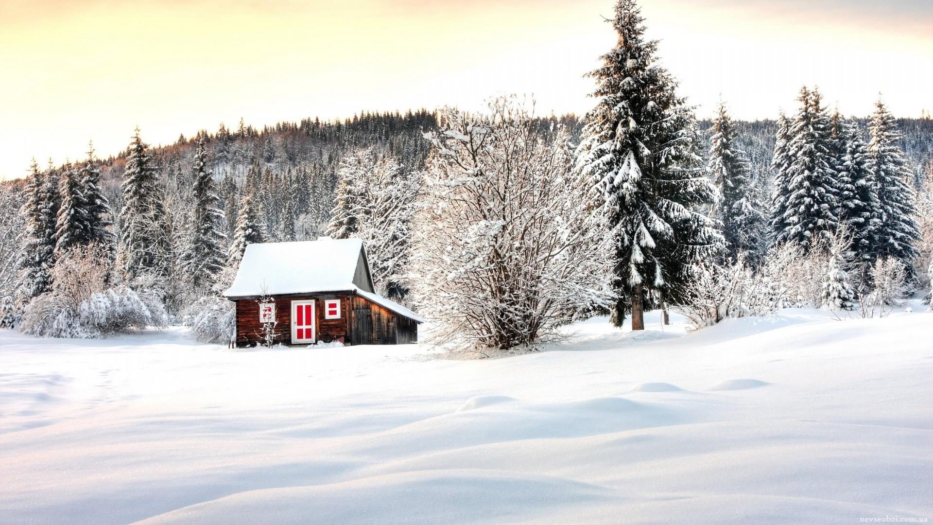Snowy Desktop wallpaper