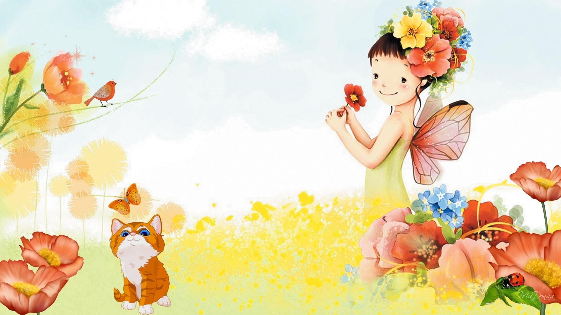 Children's Painting Desktop wallpaper