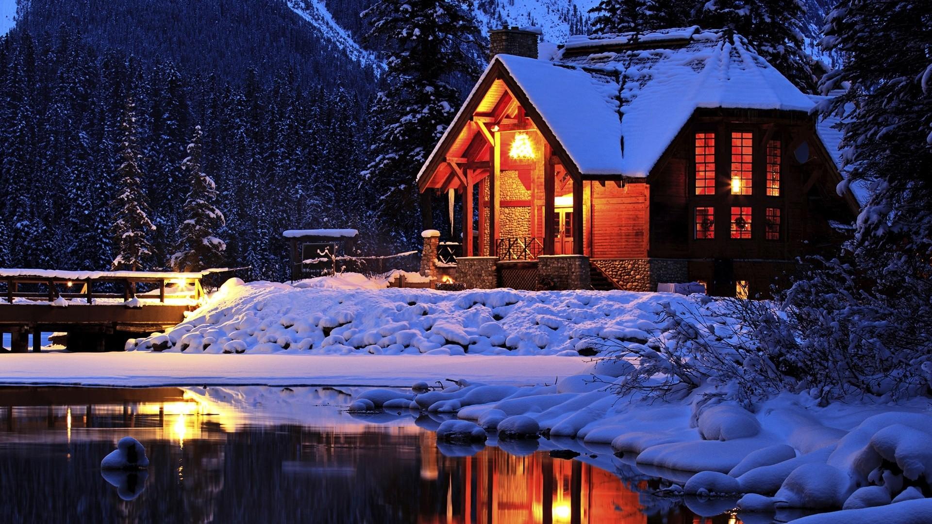 Cozy House Outside Image