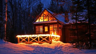 Cozy House Outside Download Wallpaper