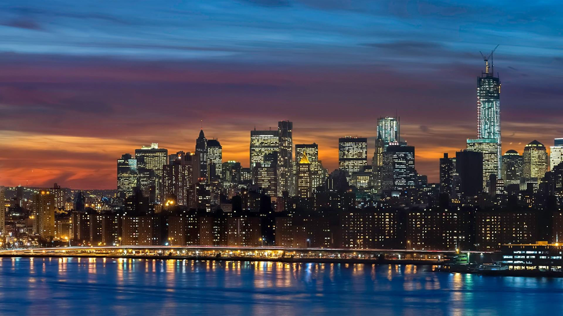 Panoramic Town Desktop wallpaper