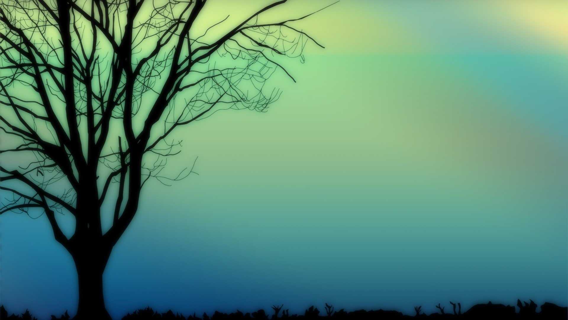 Tree Minimalist Picture