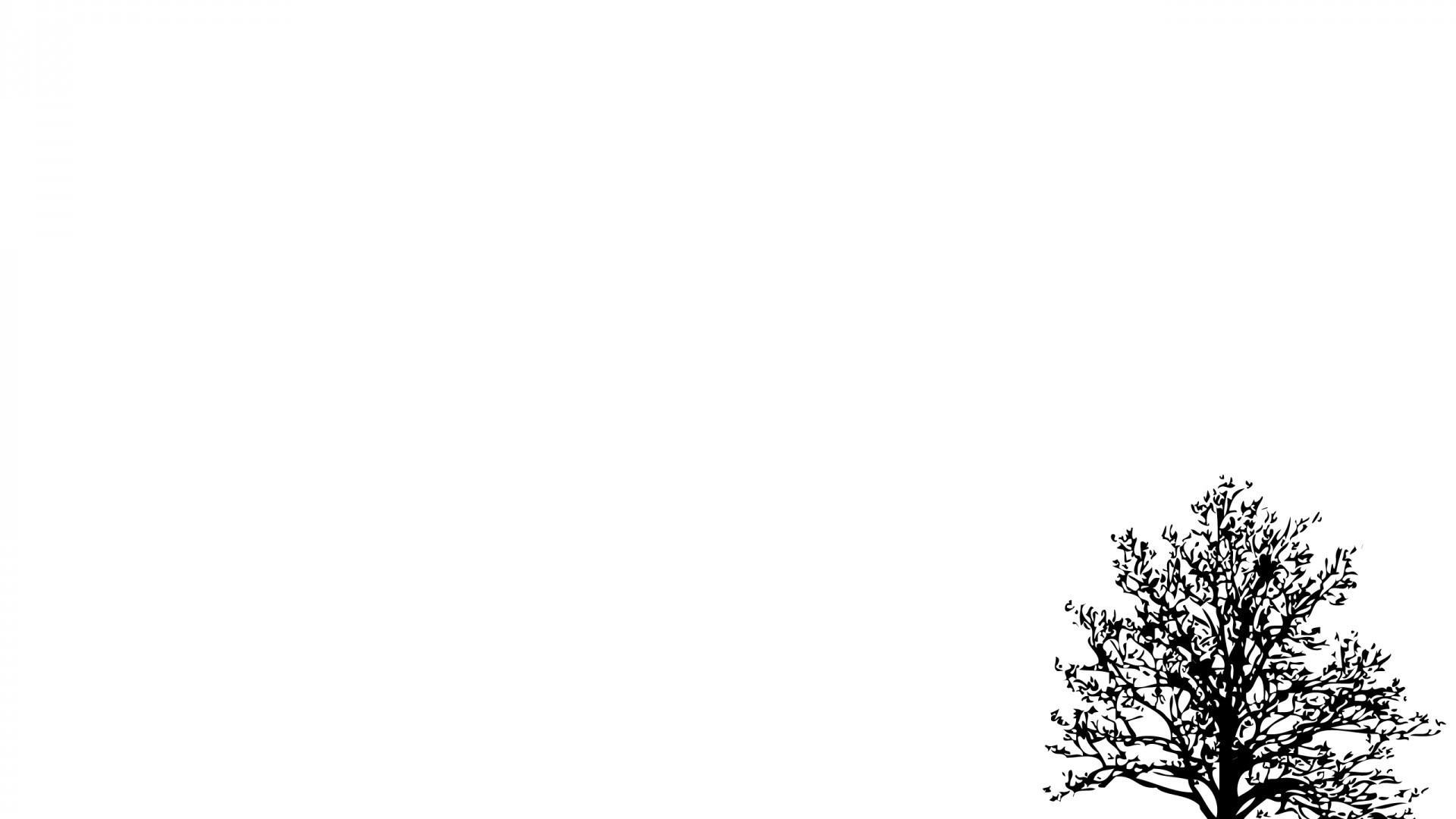 Tree Minimalist HD Wallpaper