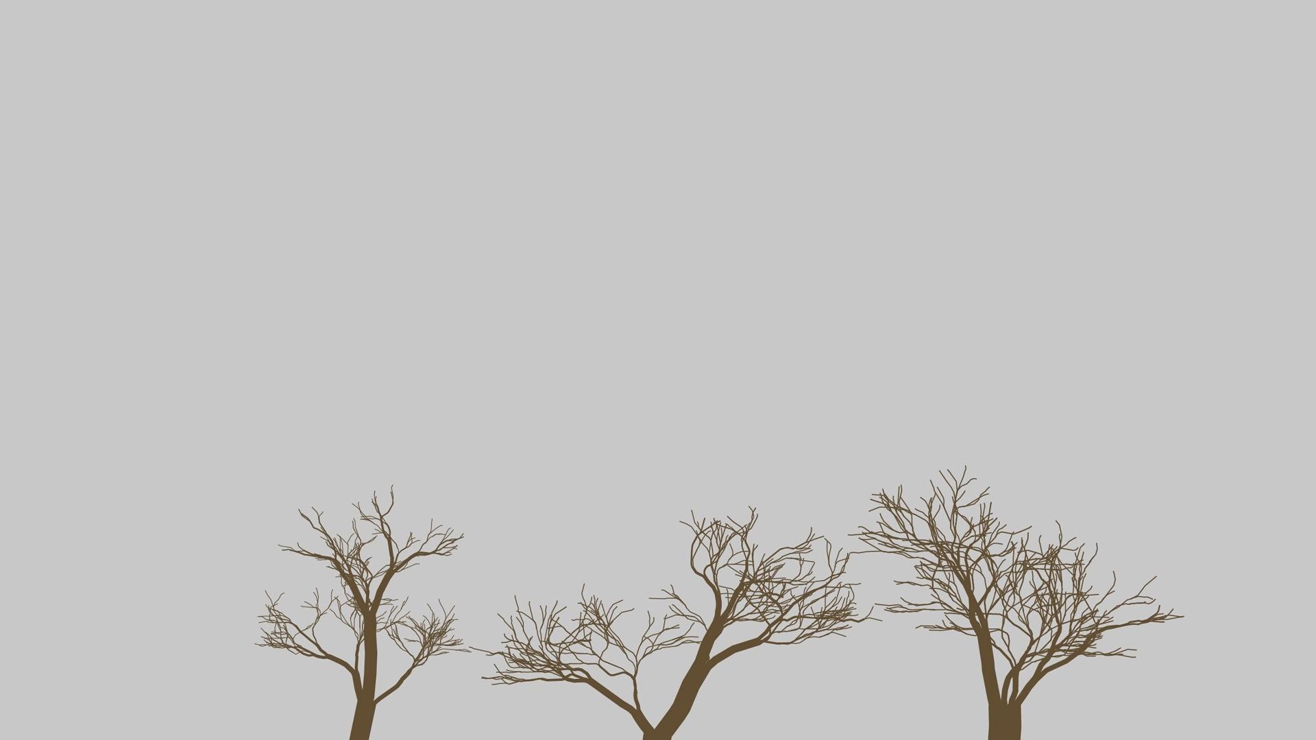 Tree Minimalist PC Wallpaper HD