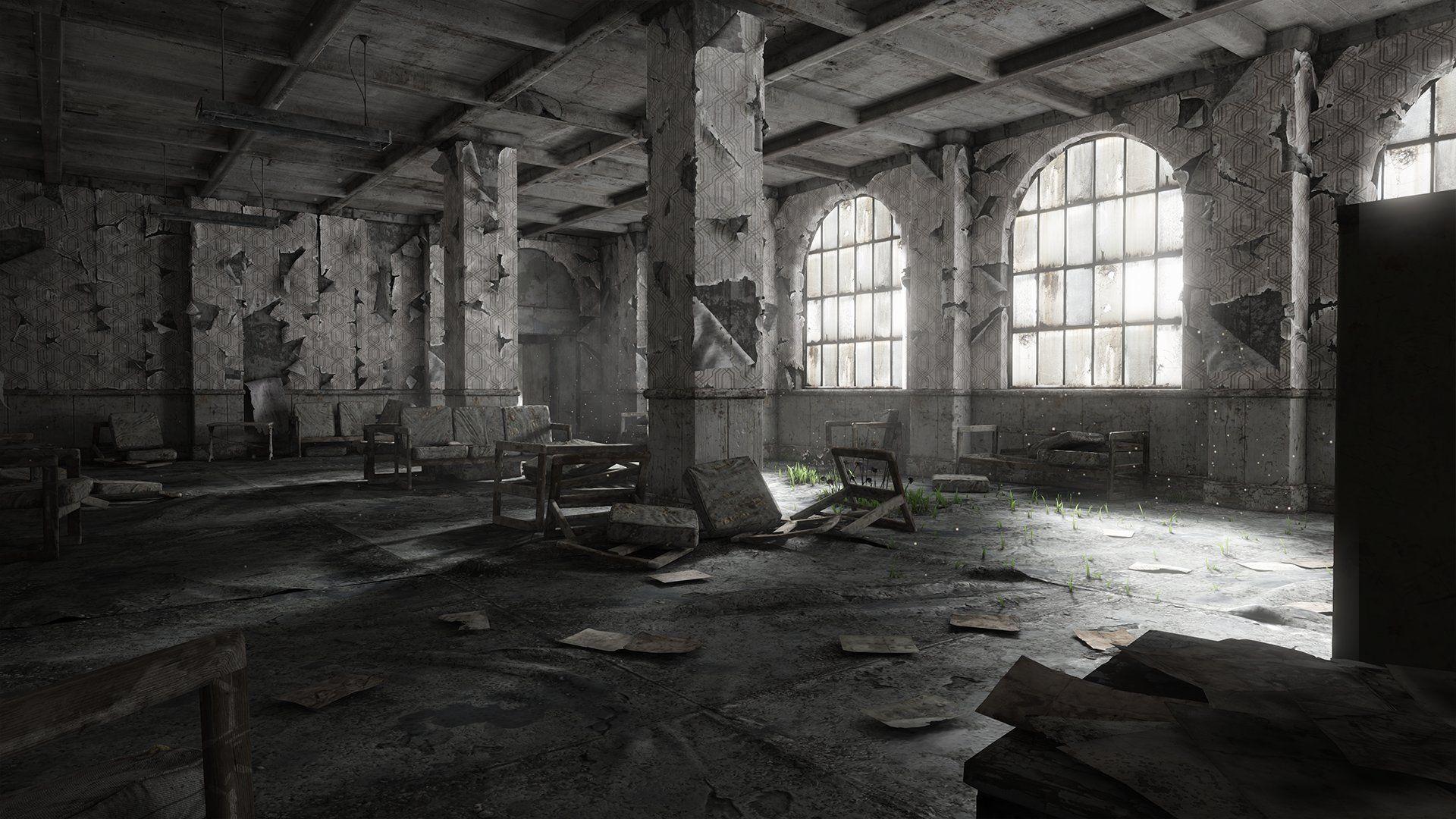 Abandoned Place Desktop Wallpaper