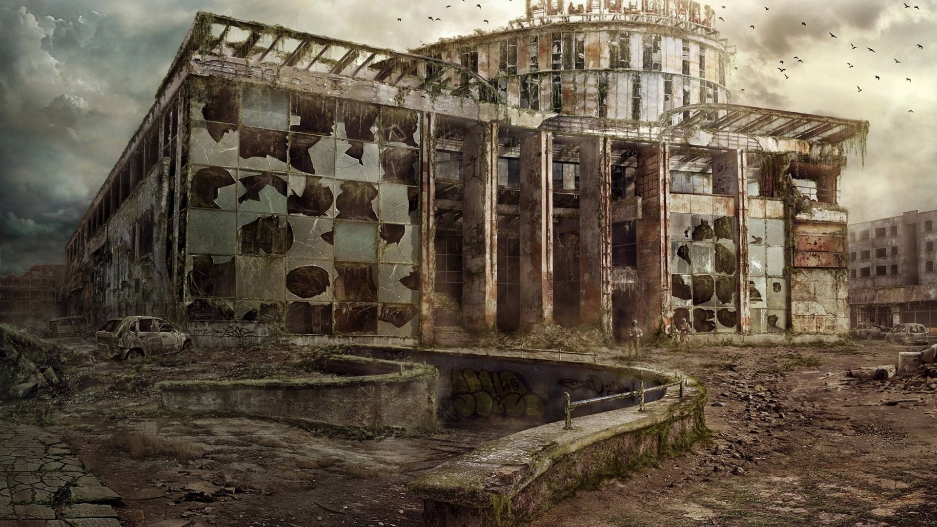 Abandoned Place PC Wallpaper