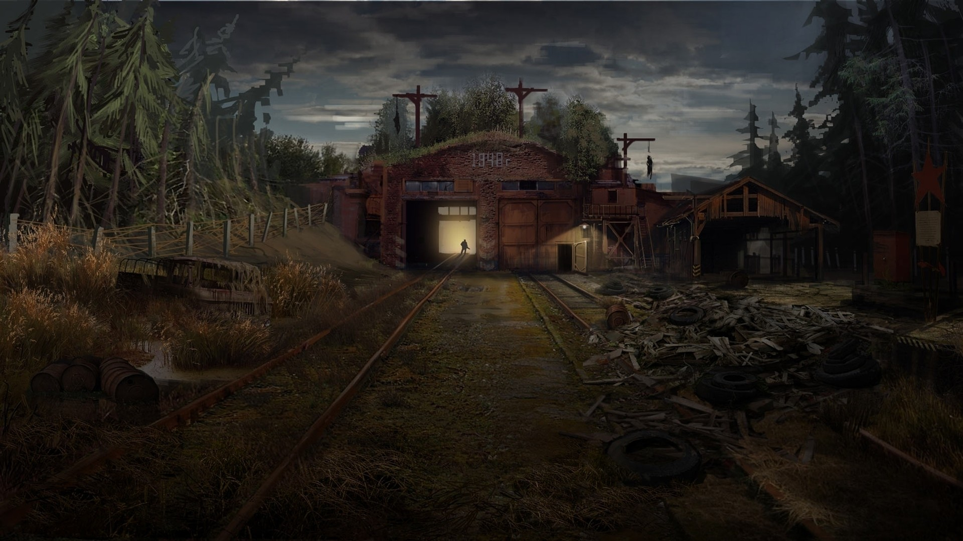 Abandoned Place Picture