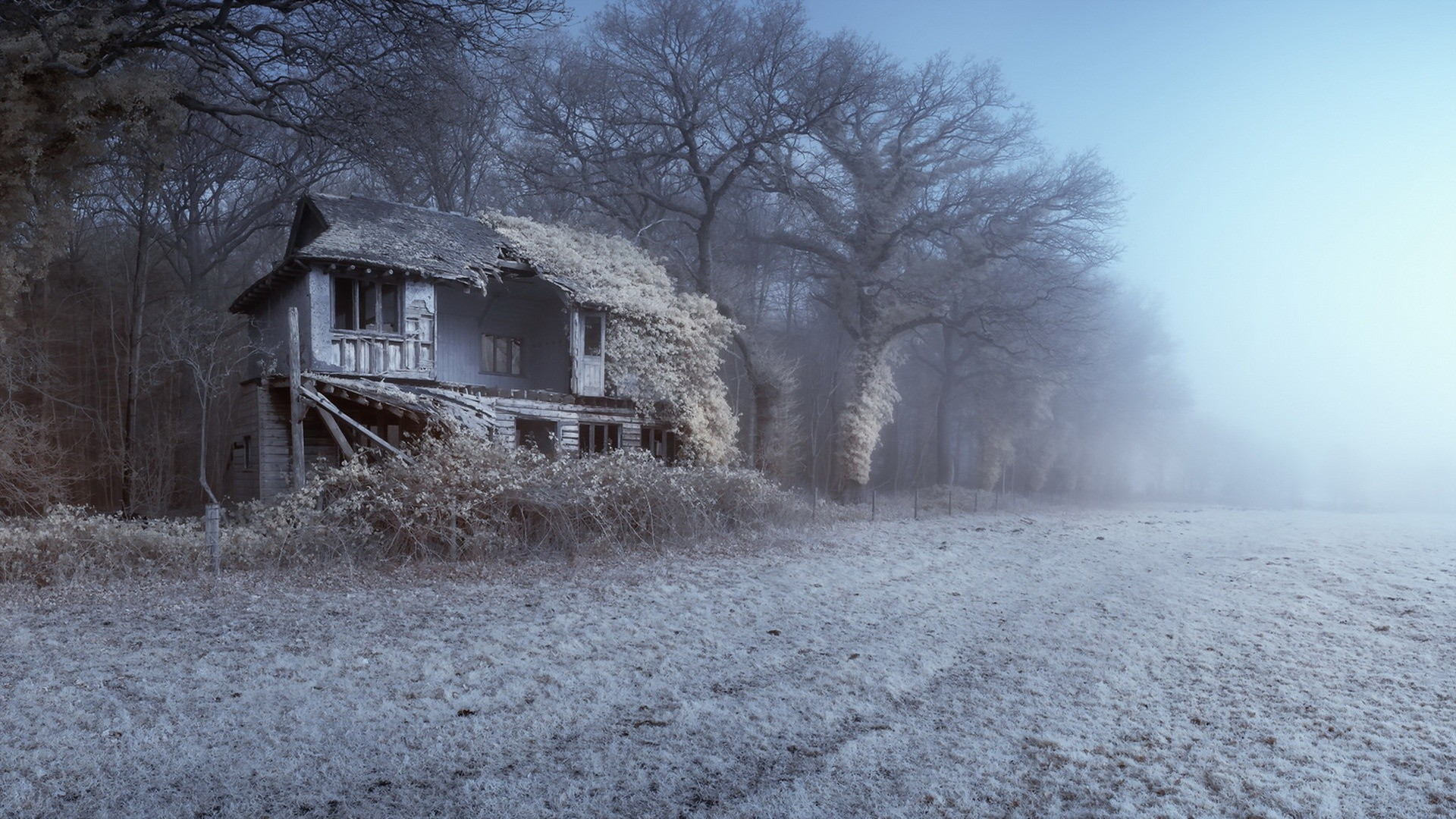 Abandoned Place Full HD Wallpaper