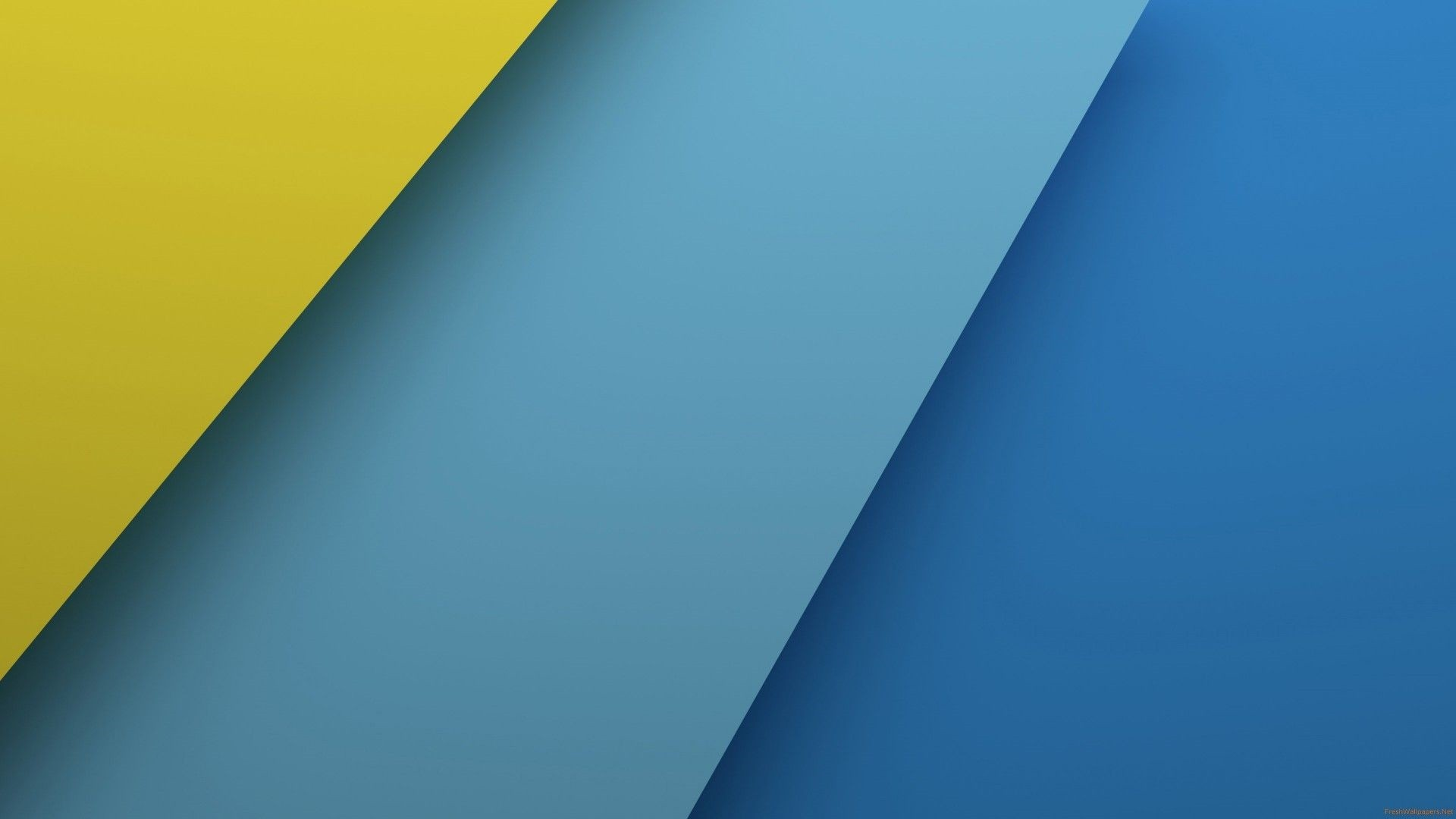 Blue And Yellow Download Wallpaper