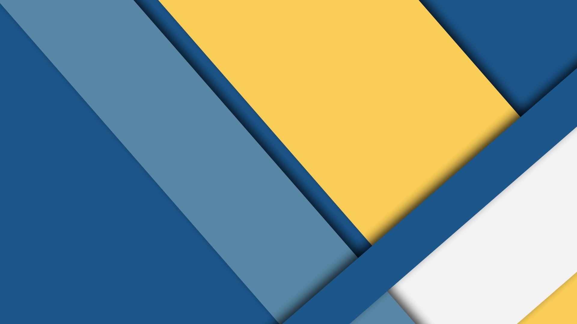 Blue And Yellow PC Wallpaper HD
