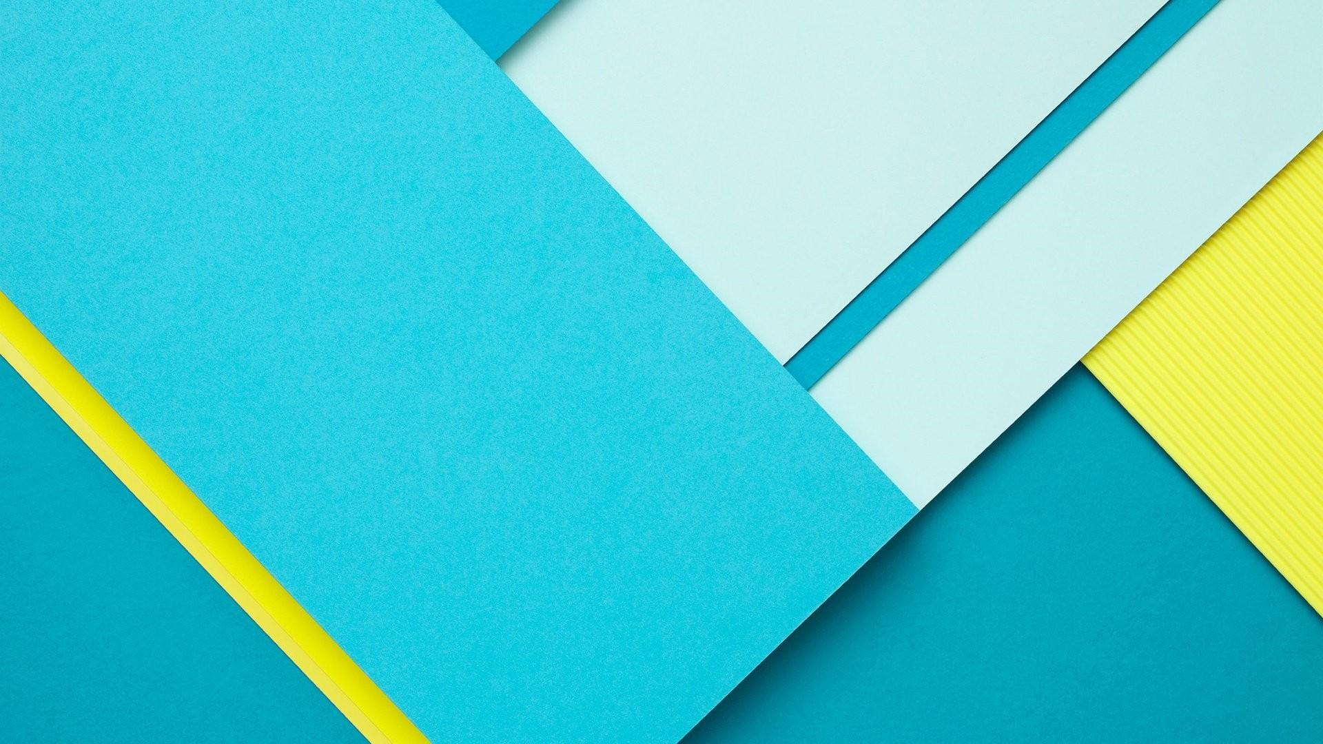Blue And Yellow Desktop Wallpaper
