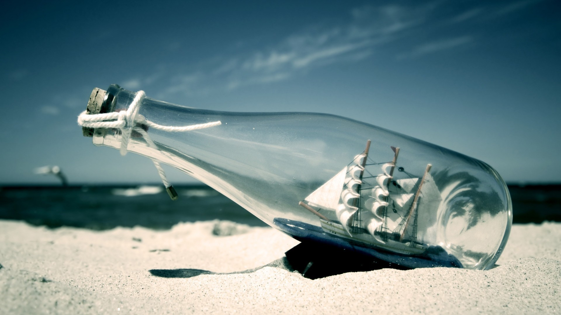 Ship In A Bottle High Quality