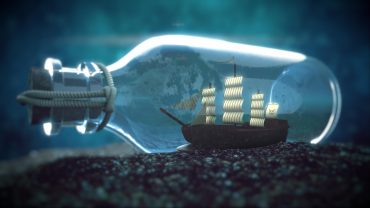 Ship In A Bottle HD Wallpaper