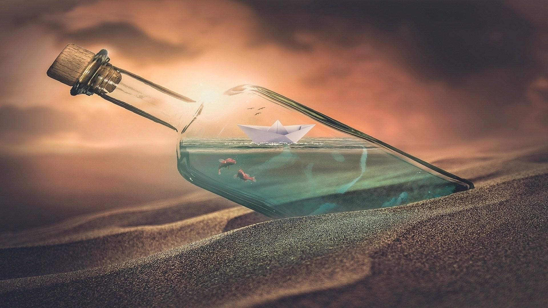 Ship In A Bottle HD Download