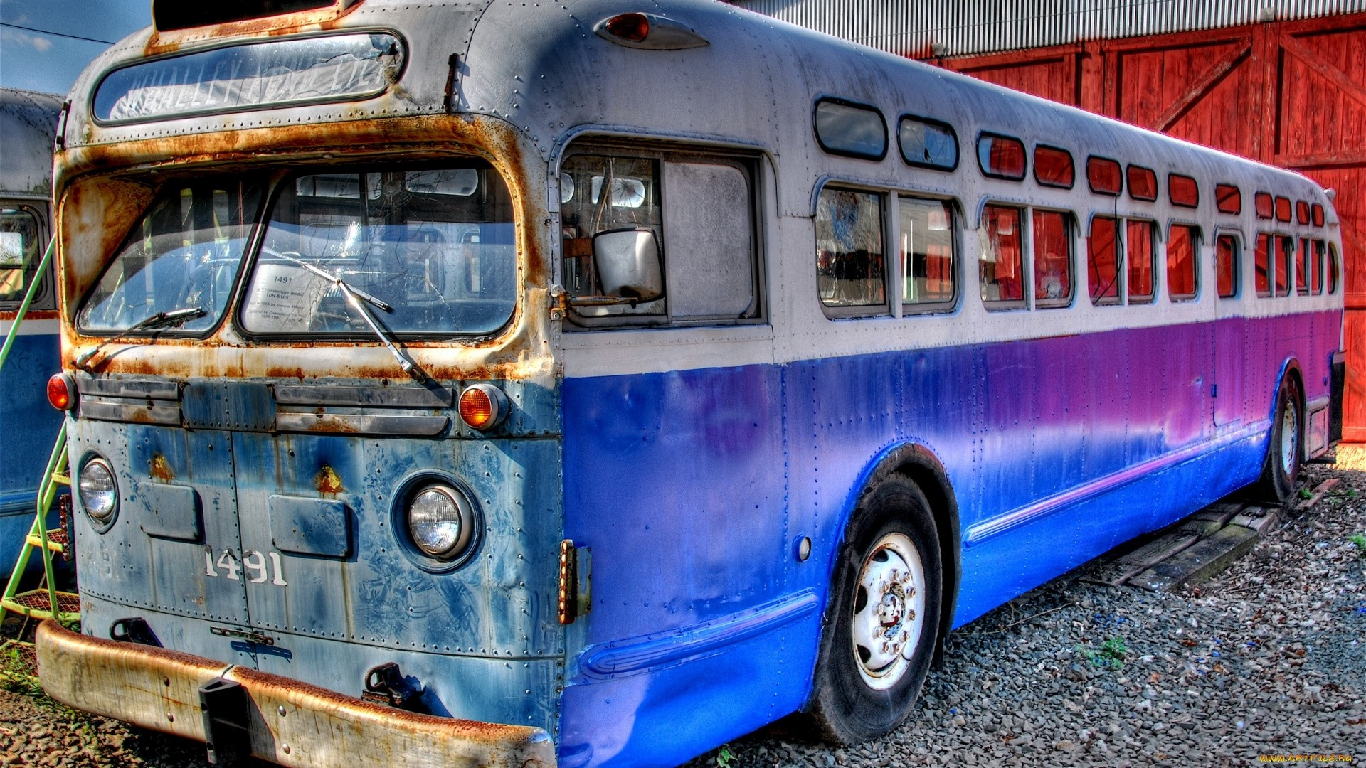 Old Bus PC Wallpaper HD