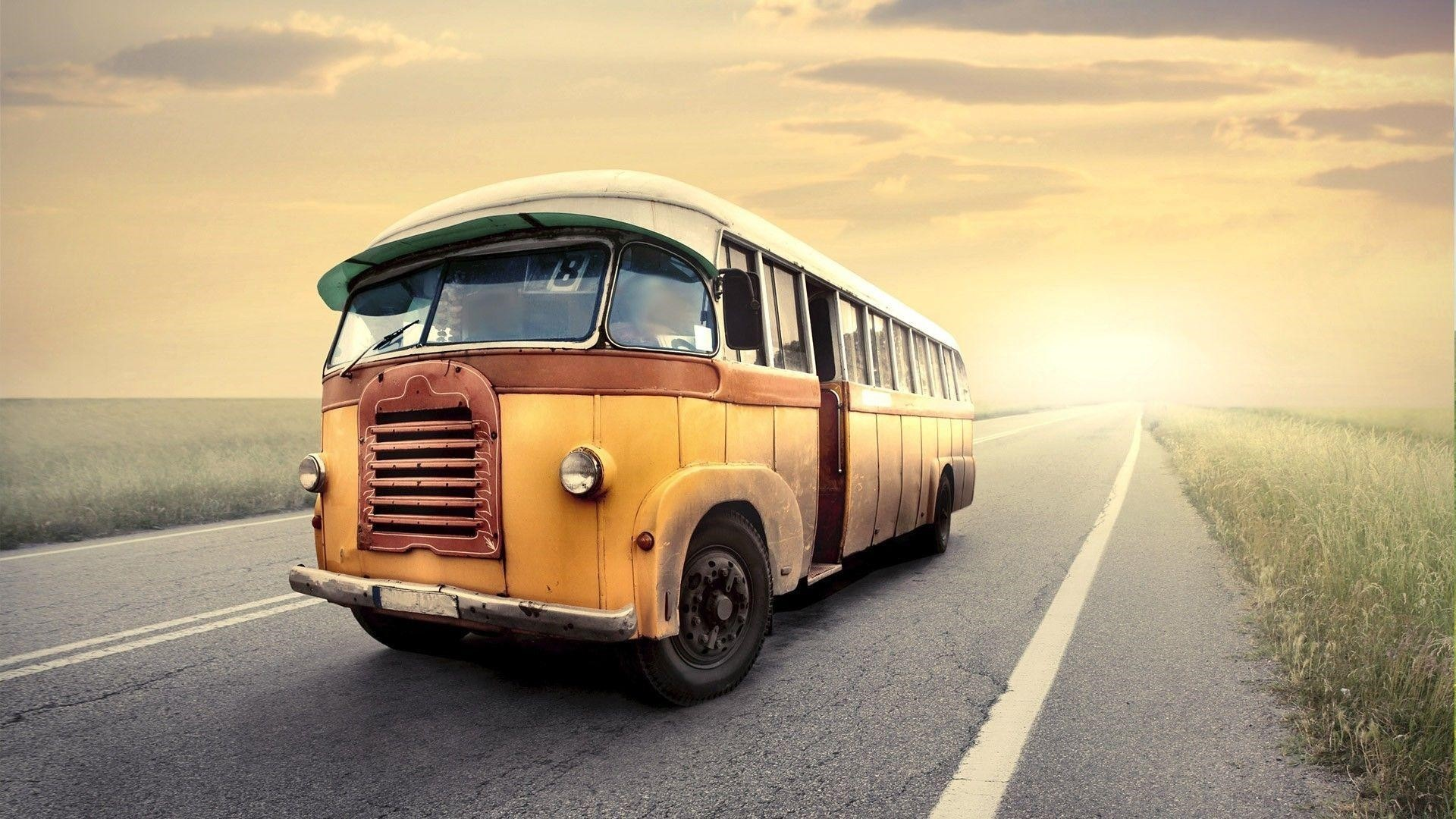Old Bus HD Wallpaper