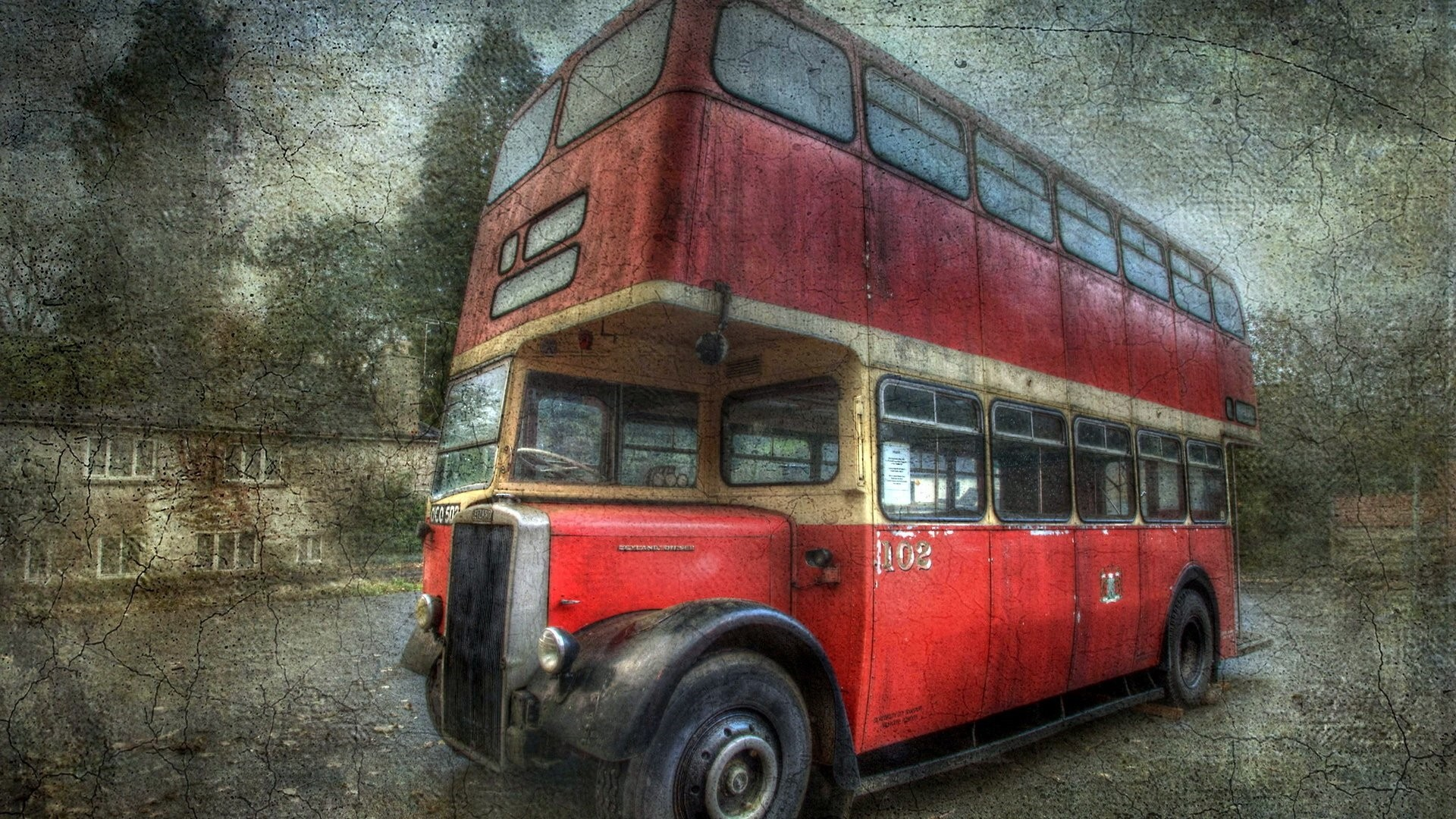 Old Bus Desktop Wallpaper