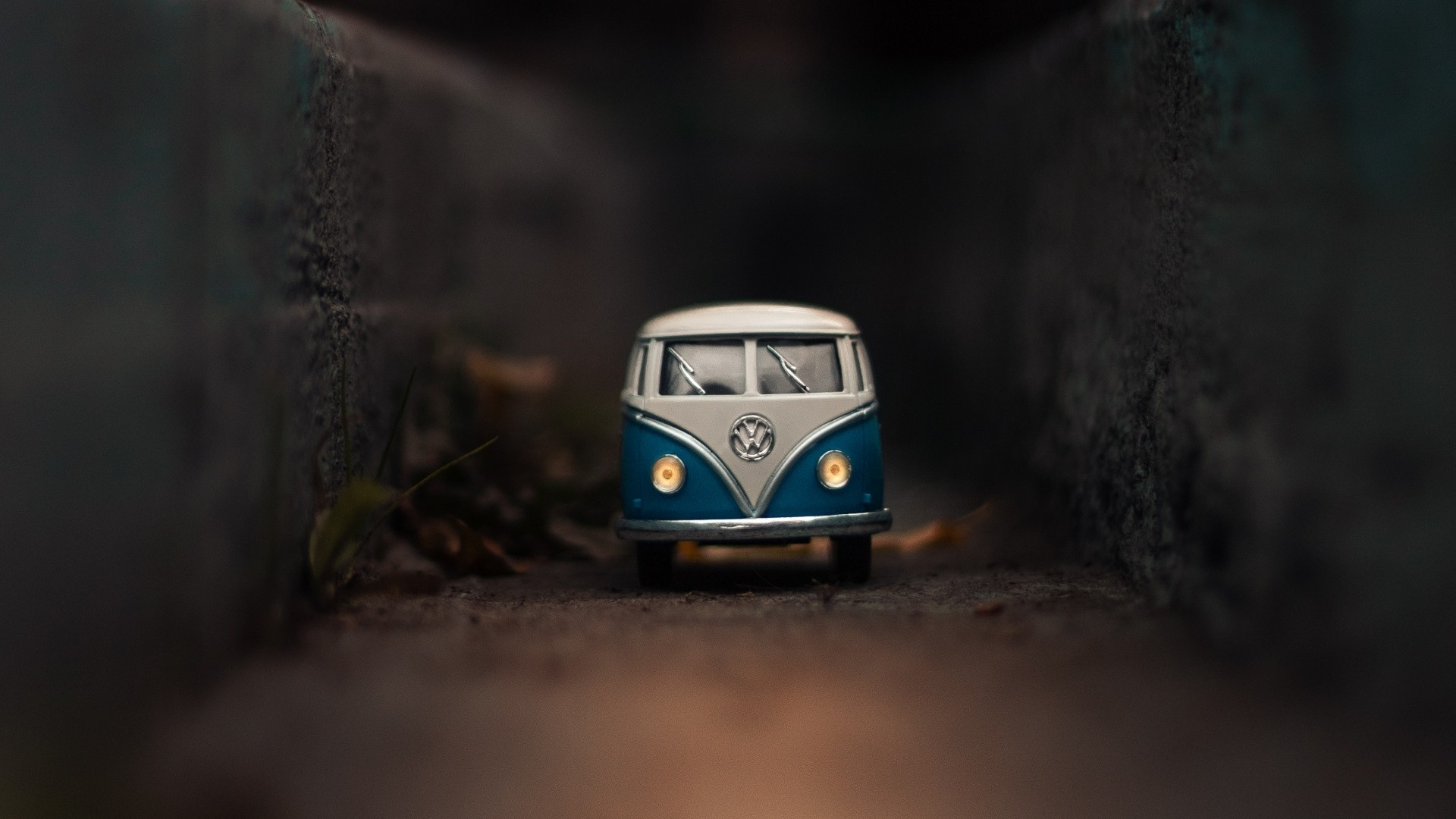 Old Bus Background