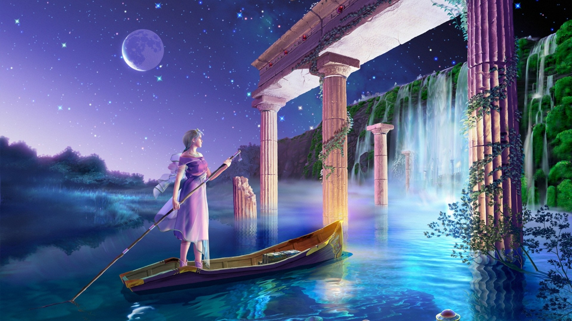 Celestial Desktop Wallpaper